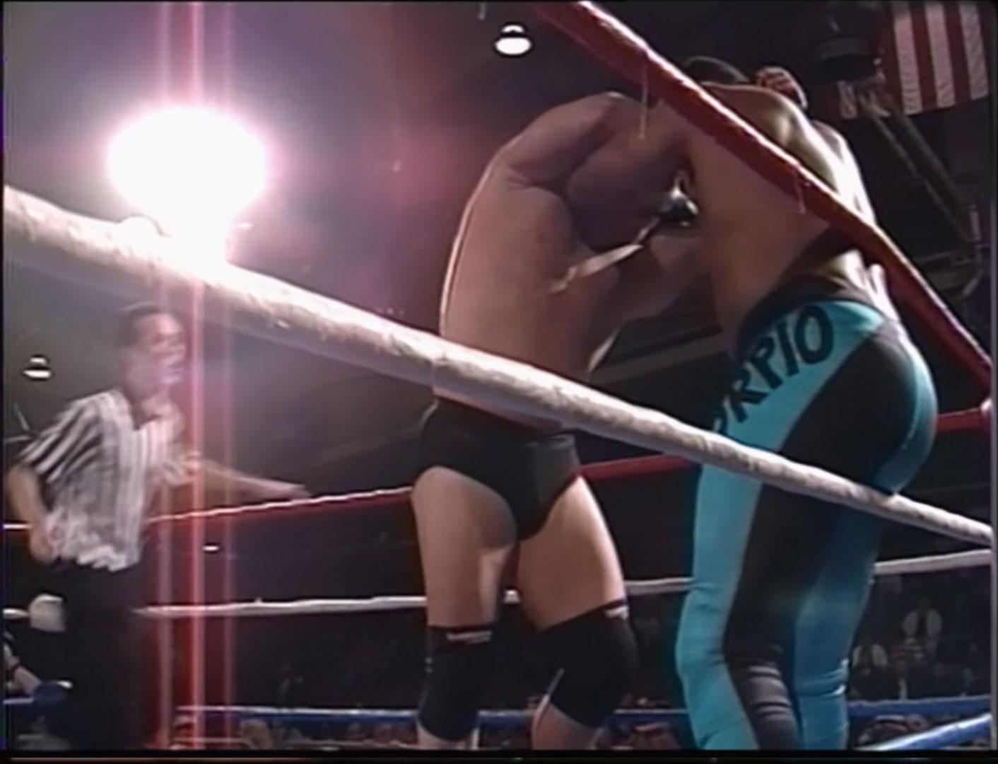 Dean Malenko vs. 2 Cold Scorpio ECW World Television Championship ECW Hardcore TV #84 November 29th 1994 (Recorded November 4th 1994)