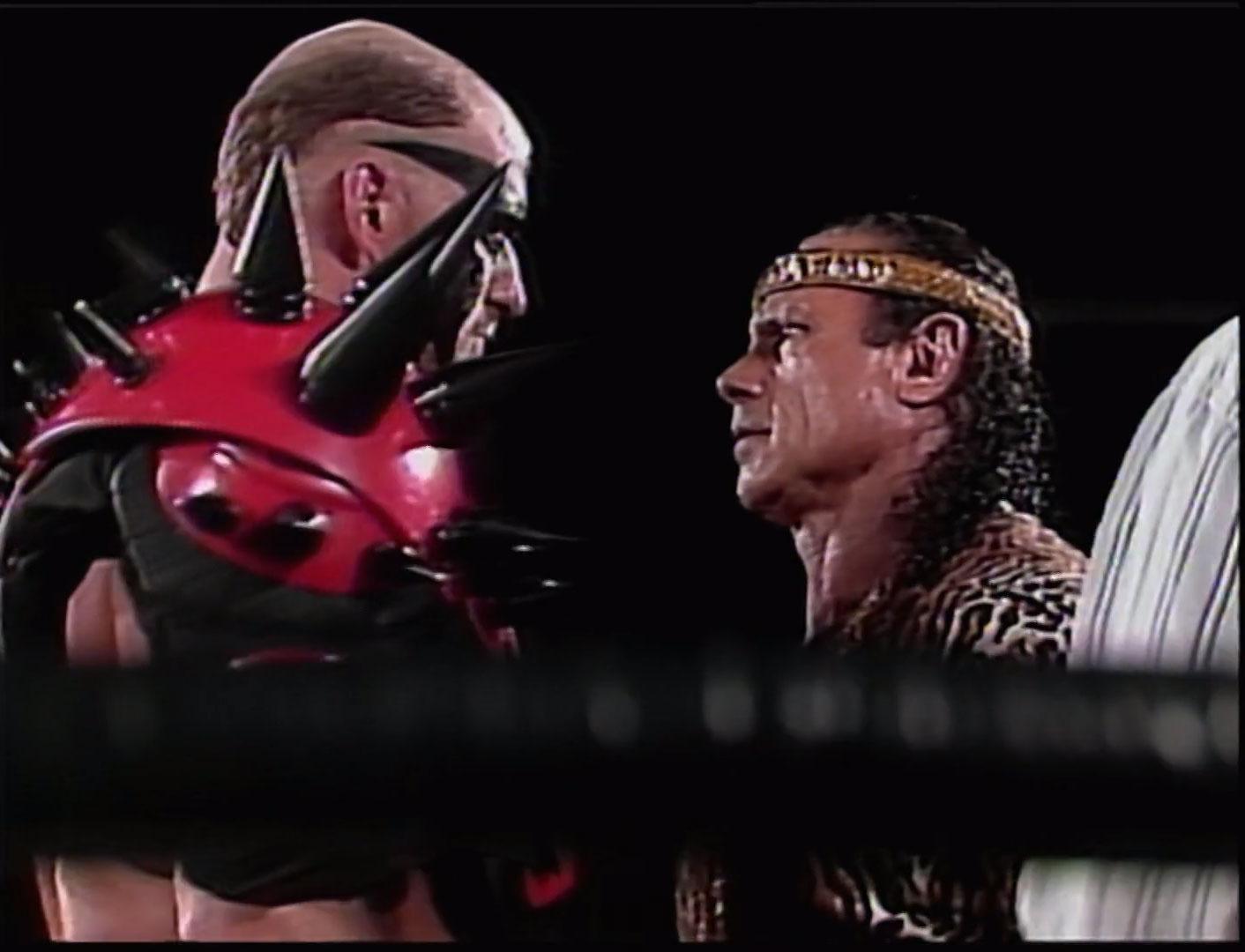 Jimmy Snuka vs. Road Warrior Hawk ECW Television Championship ECW Hardcore TV, June 15th 1993