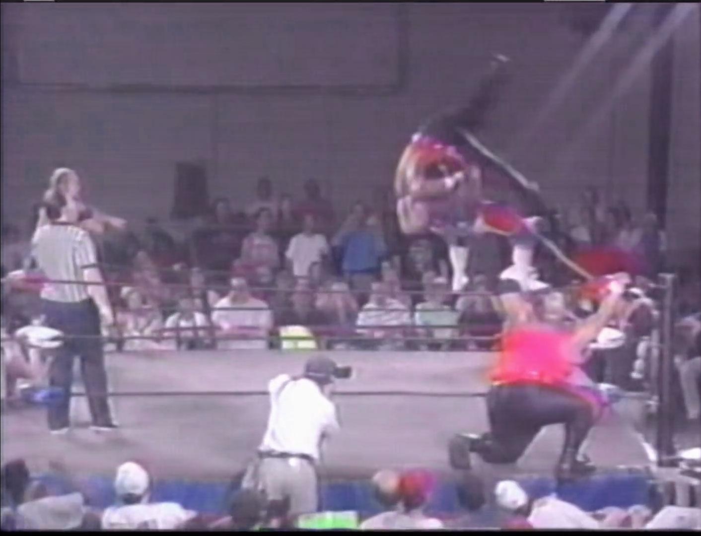 """Mr. Danger"" Mitsuhiro Matsunaga & Miguel Perez Jr. vs. The Headhunters ECW Hardcore TV, September 14th 1993"