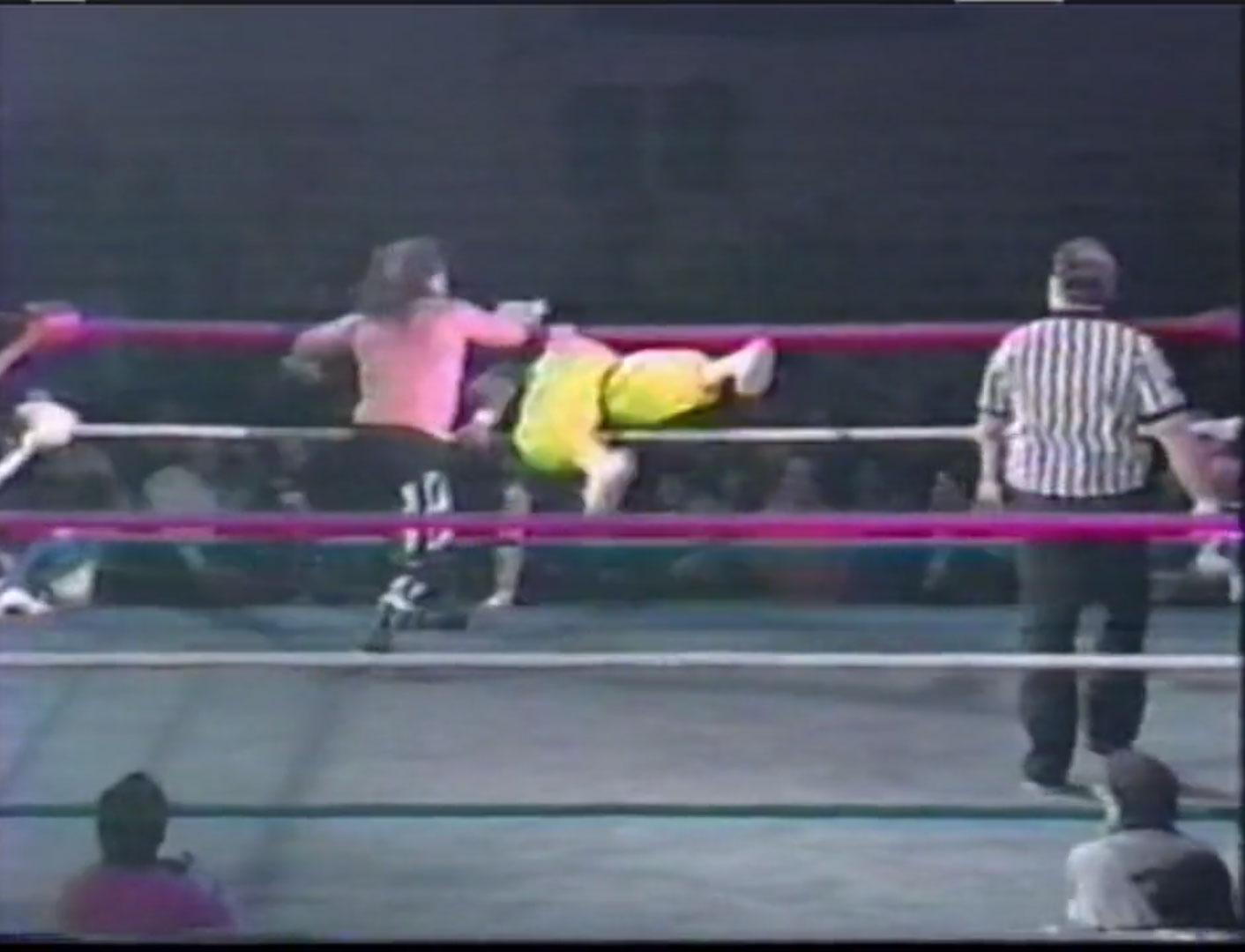 Terry Funk vs. Sabu ECW Heavyweight Championship ECW Hardcore TV, Dec 28th 1993