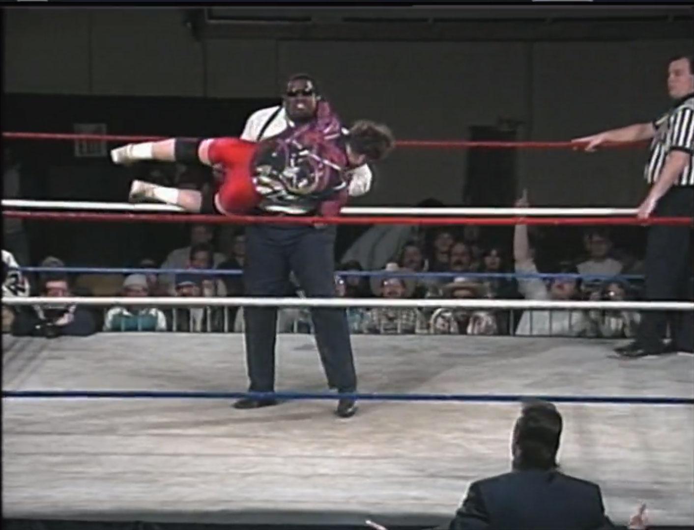 Mikey Whipwreck vs. Mr. Hughes Hardcore TV, Jan 25th 1994