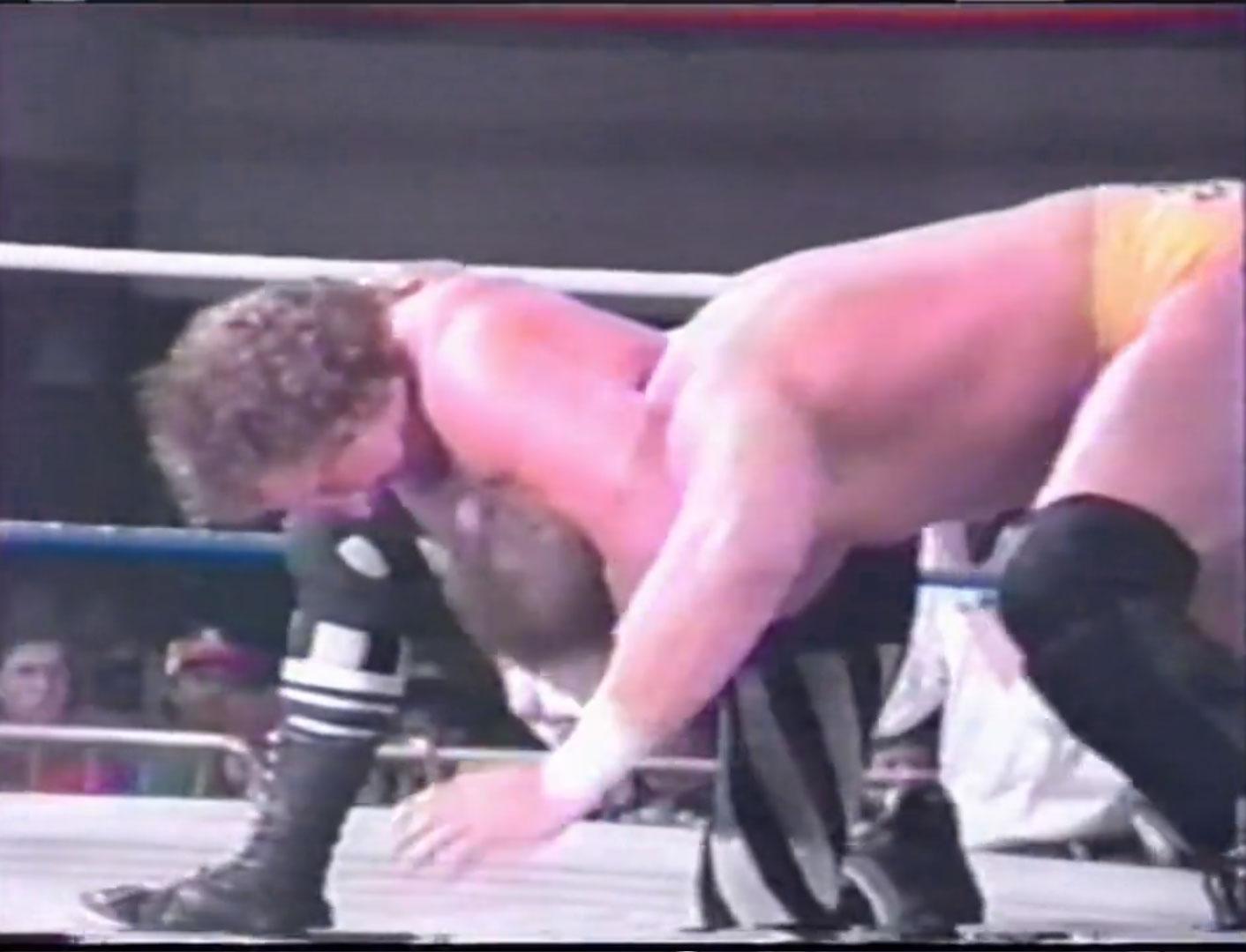 Terry Funk vs. Shane Douglas  ECW Heavyweight Championship ECW Hardcore TV, Jan 18th 1994
