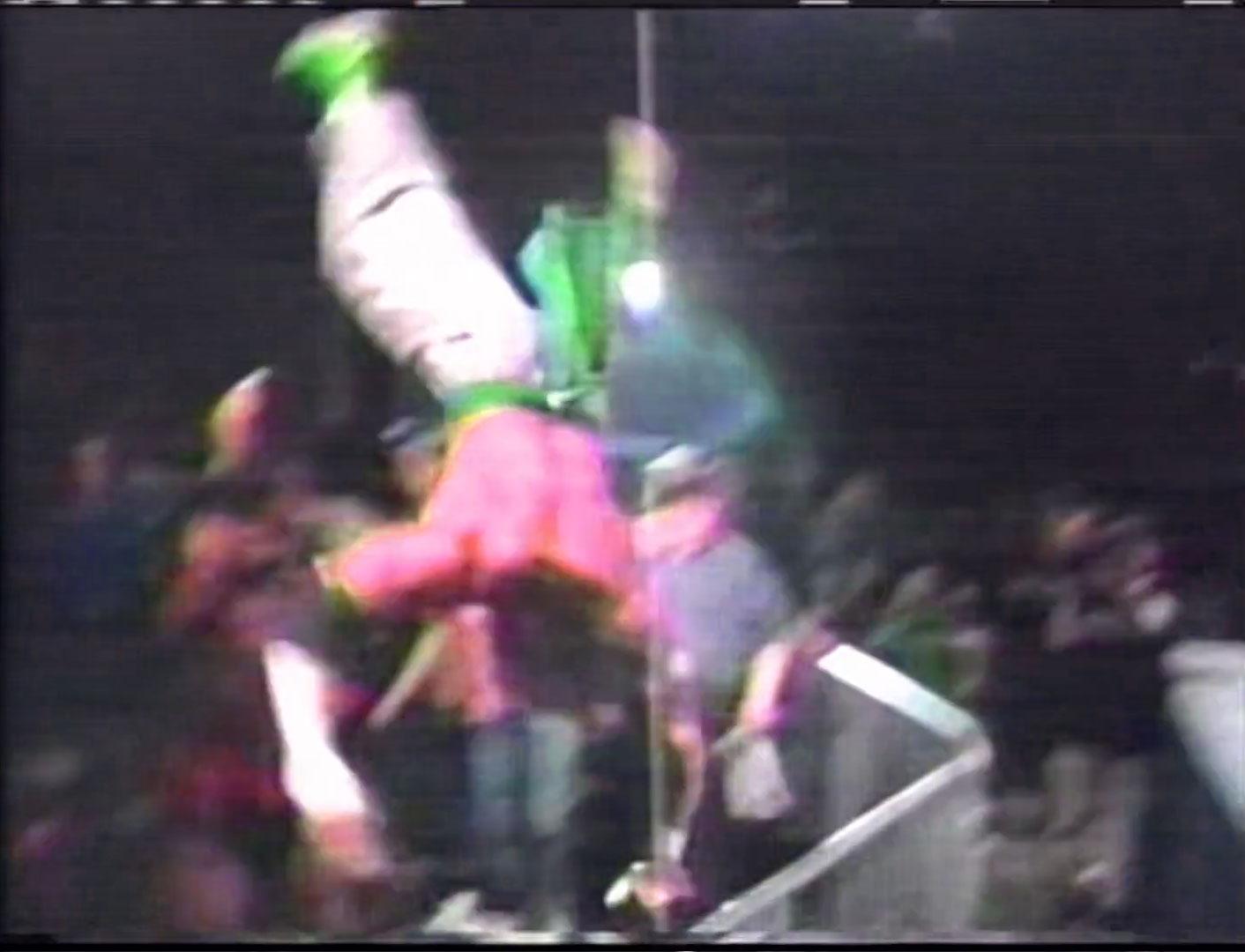 Sabu vs. The Tazmaniac  ECW Television Championship ECW Hardcore TV, 15th March 1994