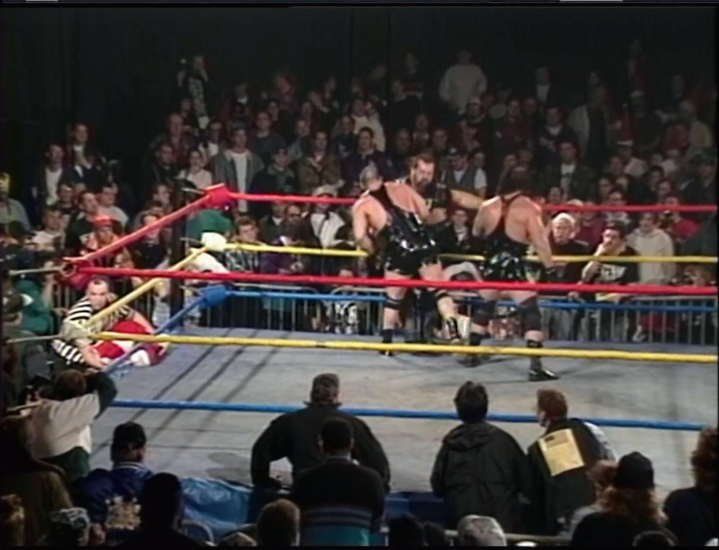 911 vs. The Pitbulls  Handicap Match ECW Hardcore TV, Dec 12th 1994