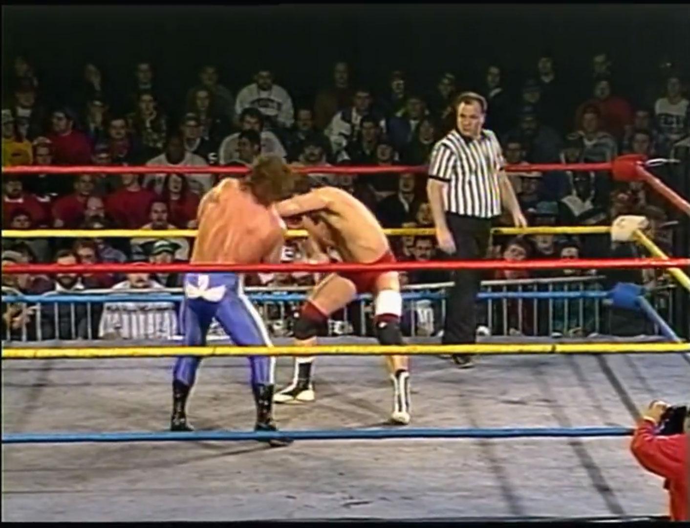 Chris Benoit vs. Al Snow ECW Hardcore TV, Feb 7th 1995