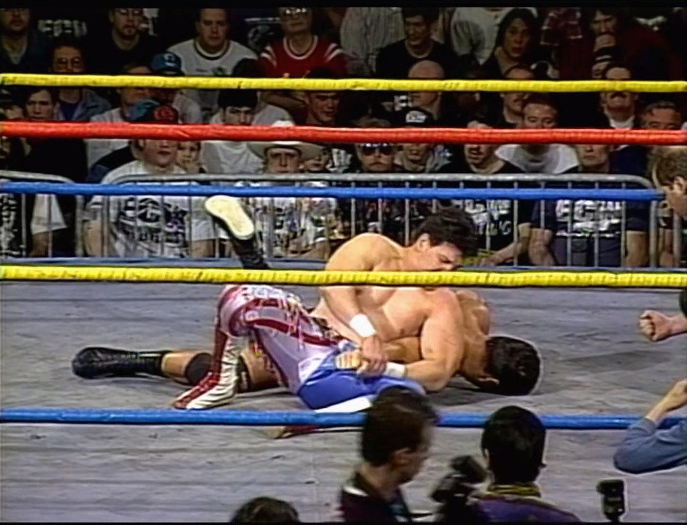Eddie Guerrero vs Dean Malenko ECW Hardcore TV, May 2nd 1995