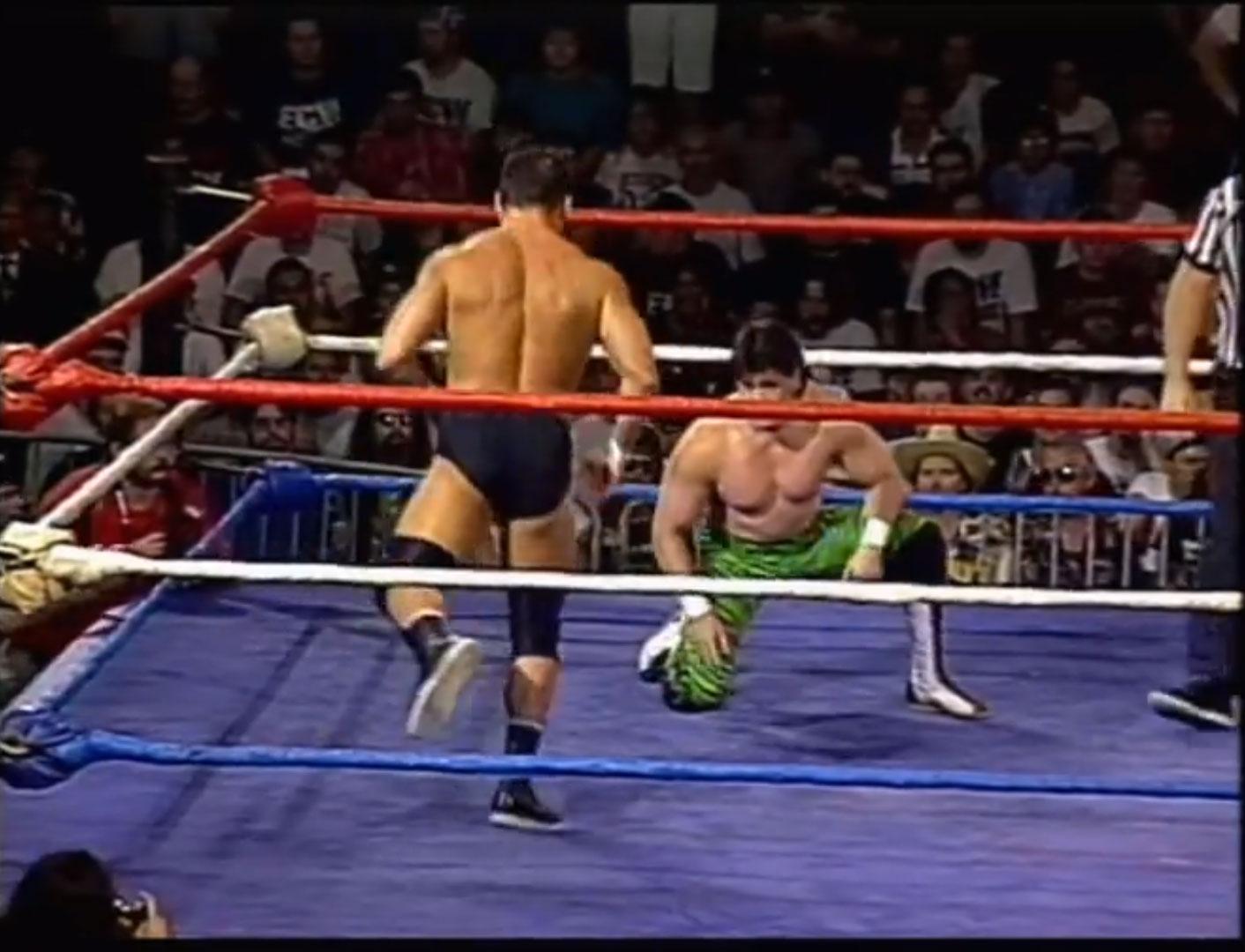 Eddie Guerrero vs Dean Malenko 2/3 Falls Match ECW Hardcore TV, 29th August 1995