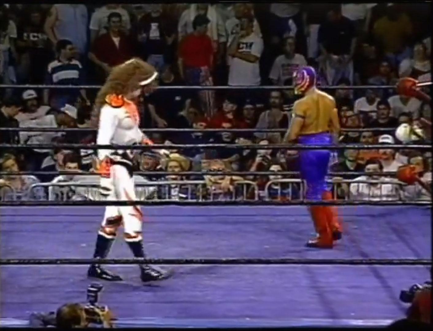 Rey Misterio Jr vs Psicosis ECW Hardcore TV, September 26th 1995