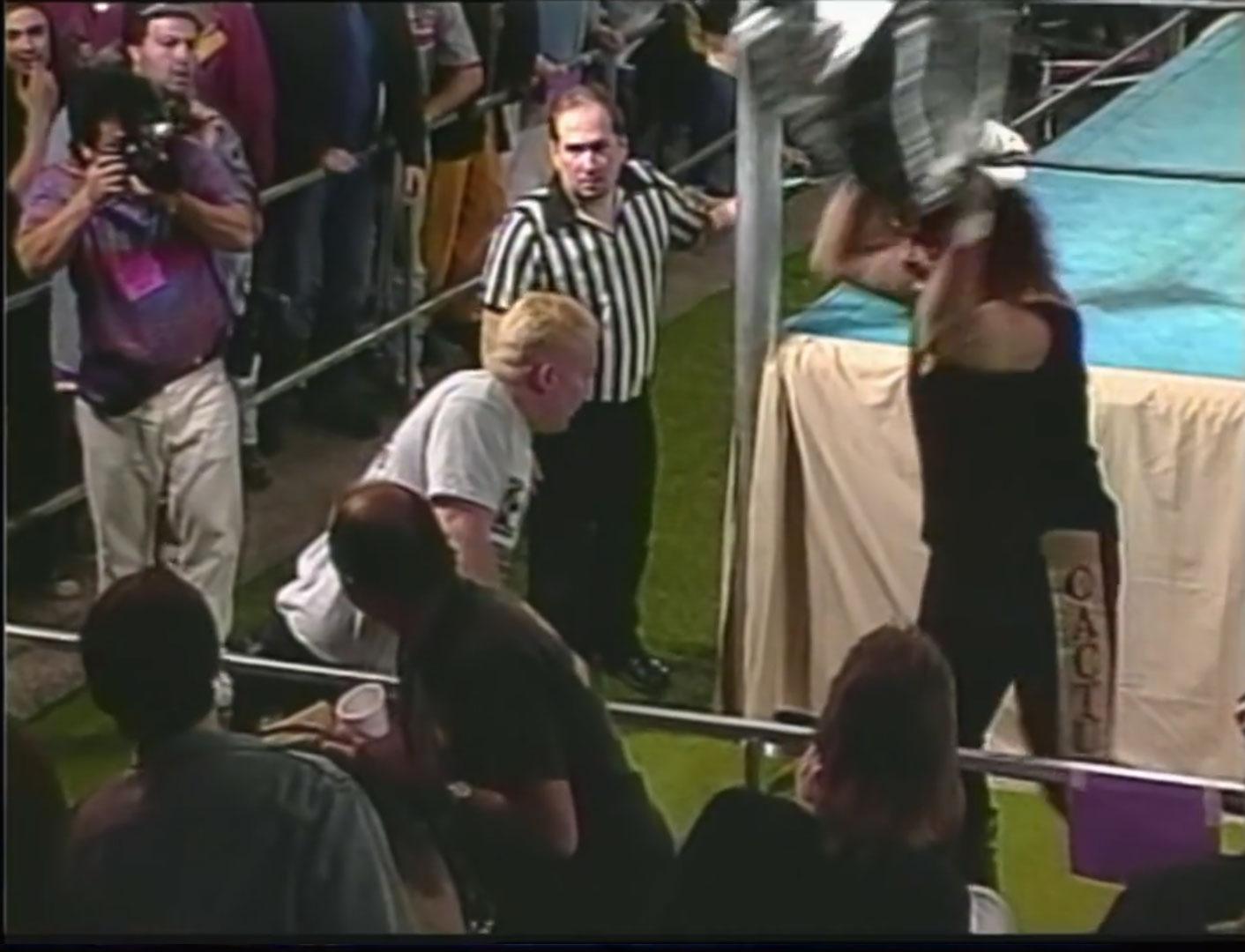 Cactus Jack vs The Sandman ECW Hardcore TV, January 31st 1995