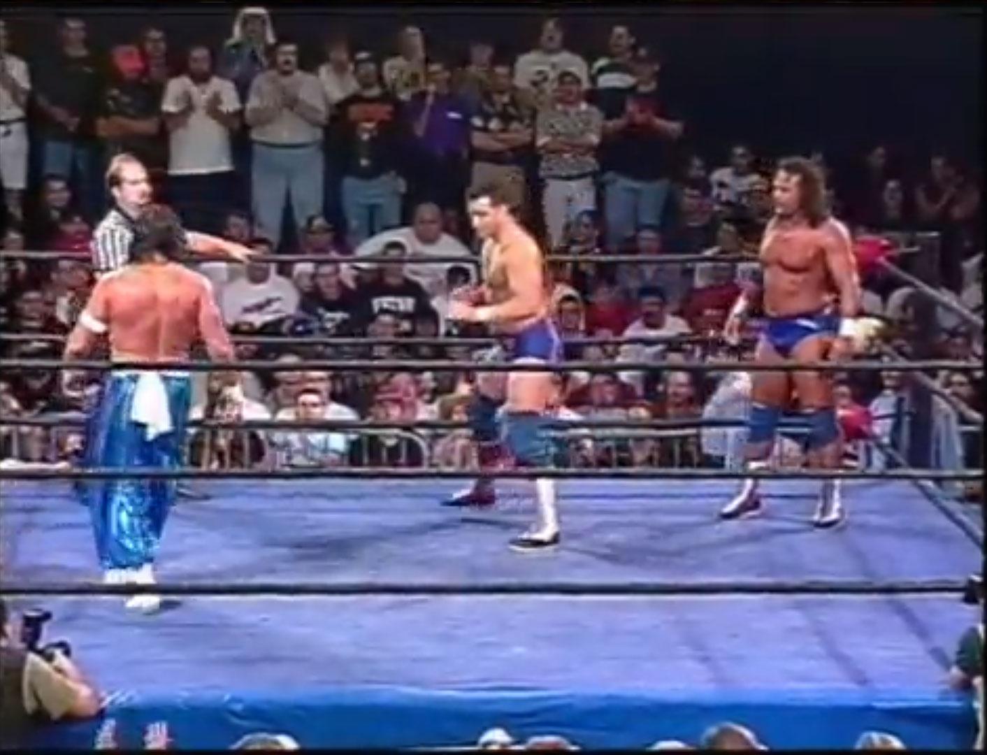 Rob Van Dam & Sabu vs Doug Furnas and Dan Kroffat ECW Hardcore TV September 24th 1996