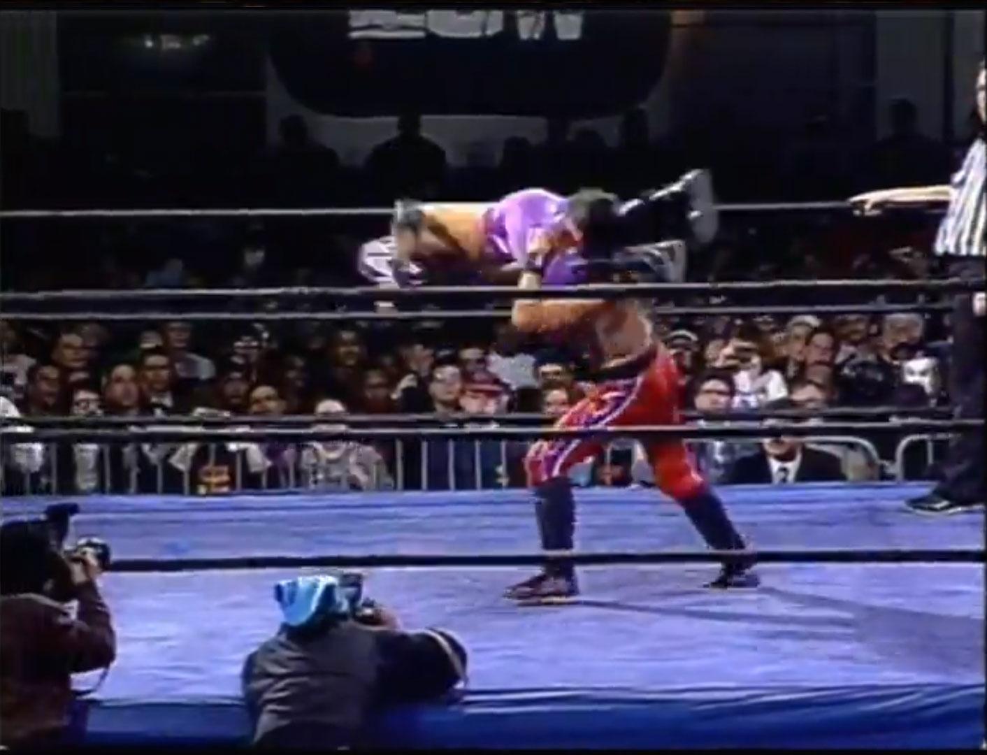 Rey Mysterio Jr vs Juventud Guerrera ECW Hardcore TV March 19th 1996