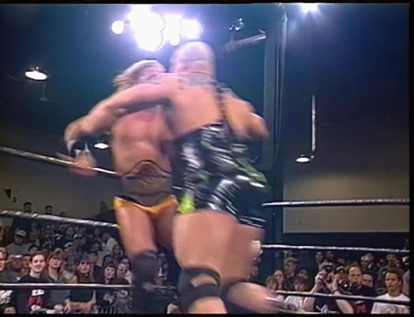 Shane Douglas vs Pitbull 2 ECW Television Championship ECW Hardcore TV, October 15th 1996