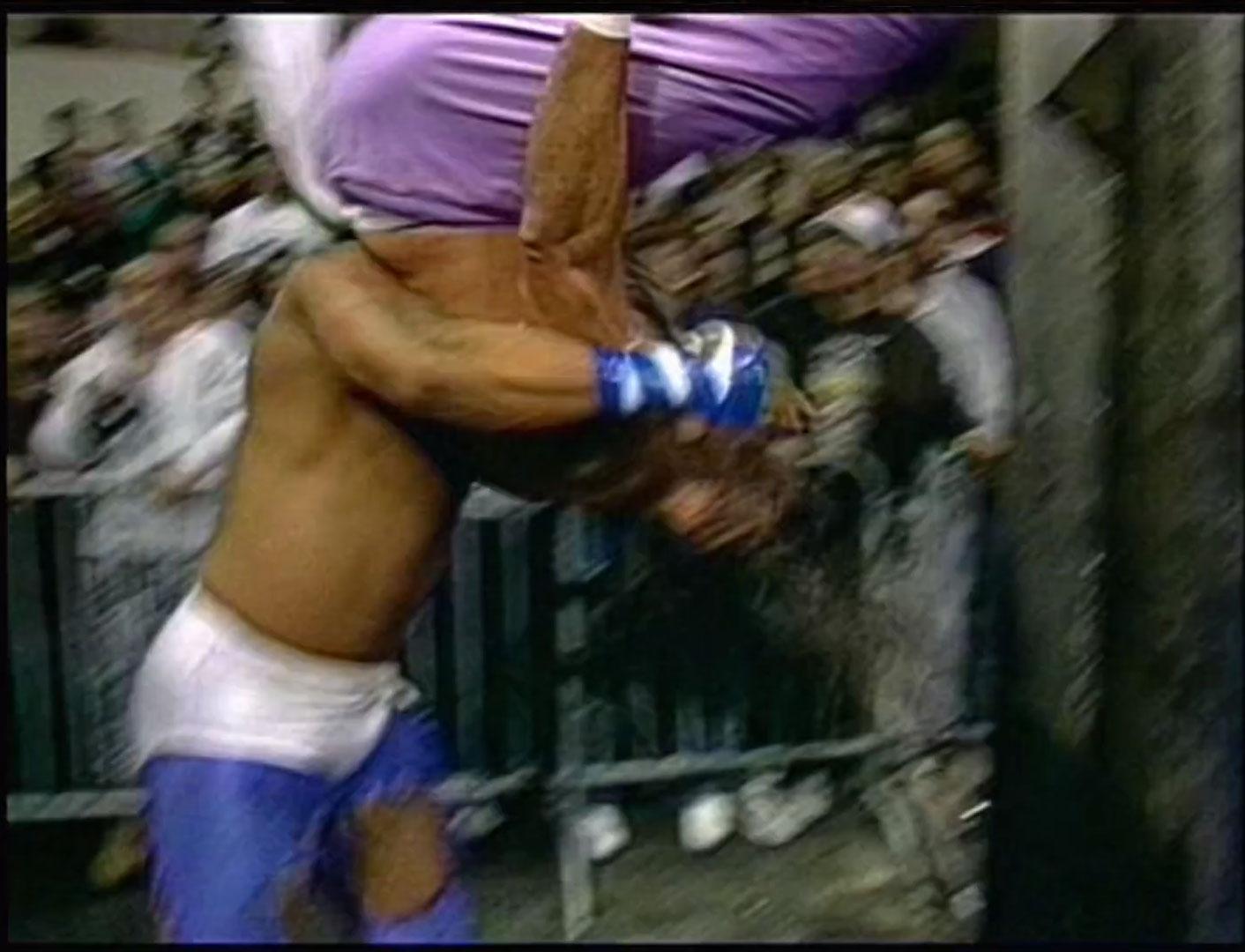 Sabu vs Too Cold Scorpio ECW Television Championship ECW Hardcore TV March 5th 1996