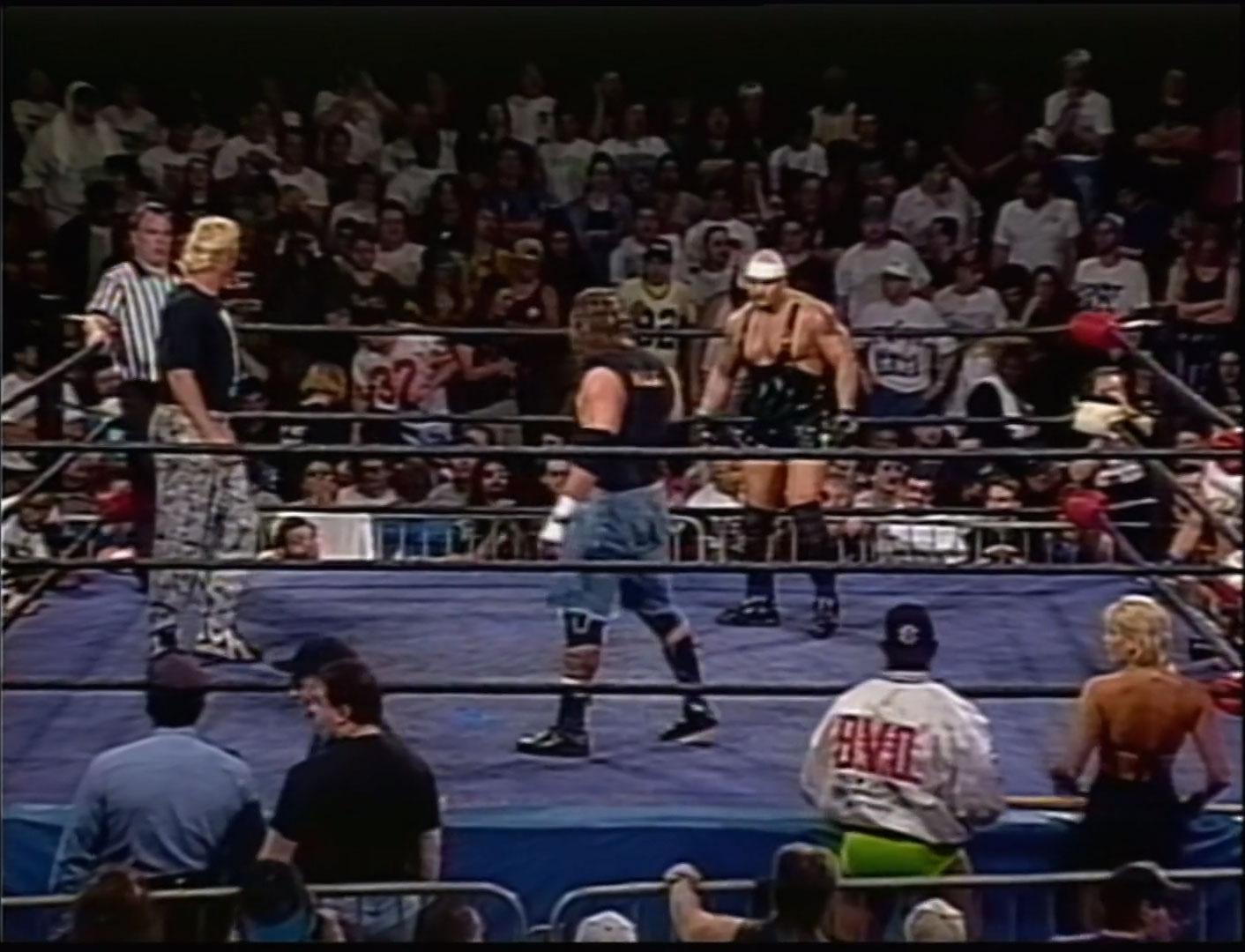 Raven vs Sandman vs Pitbull 2 ECW Heavyweight Championship ECW Hardcore TV May 21st 1996