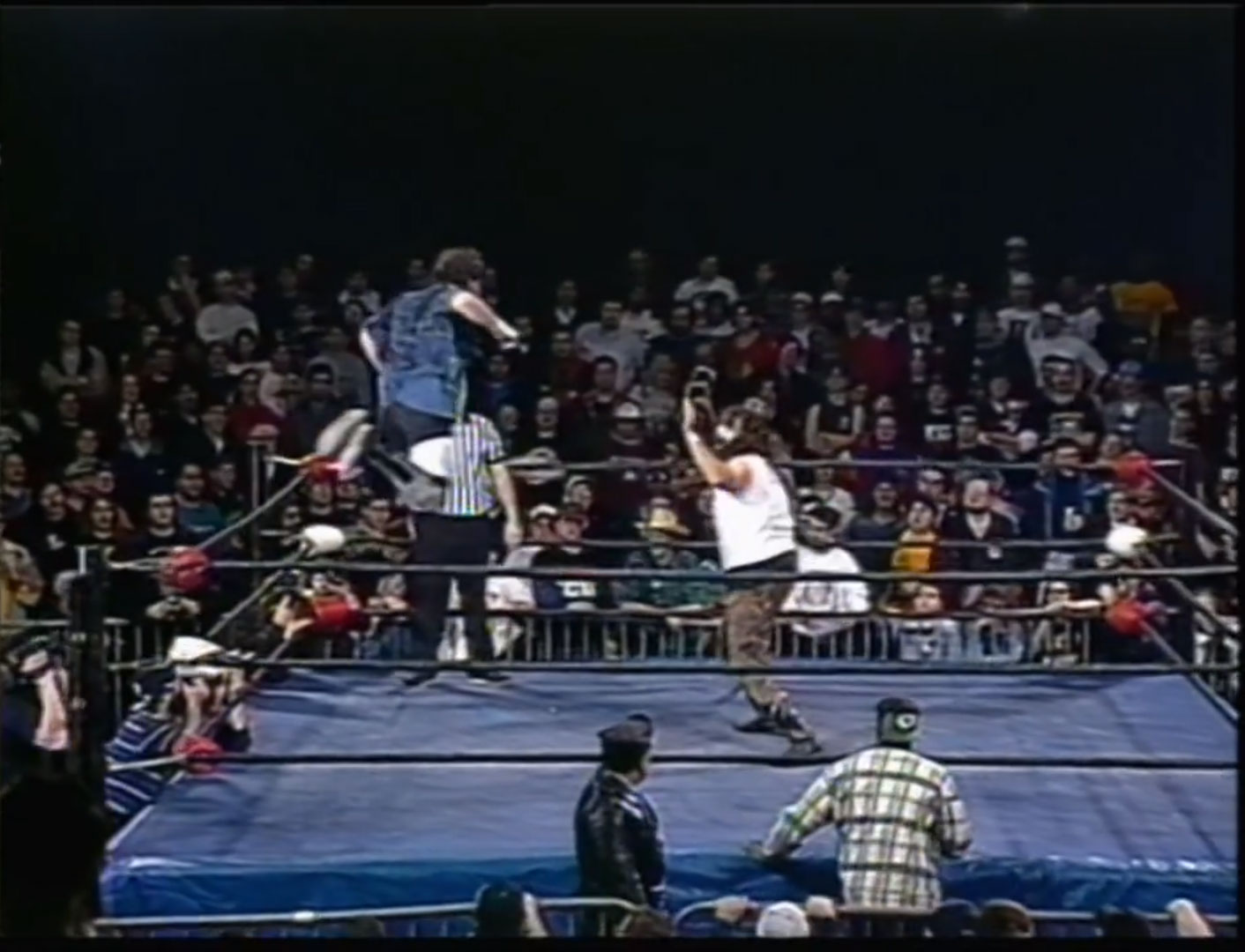 Mikey Whipwreck vs Cactus Jack ECW Hardcore TV March 26th 1996