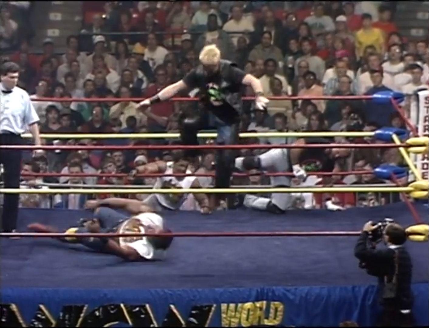 Doom vs. Barry Windham & Arn Anderson Street Fight WCW Starrcade '90 Dec 16th 1990