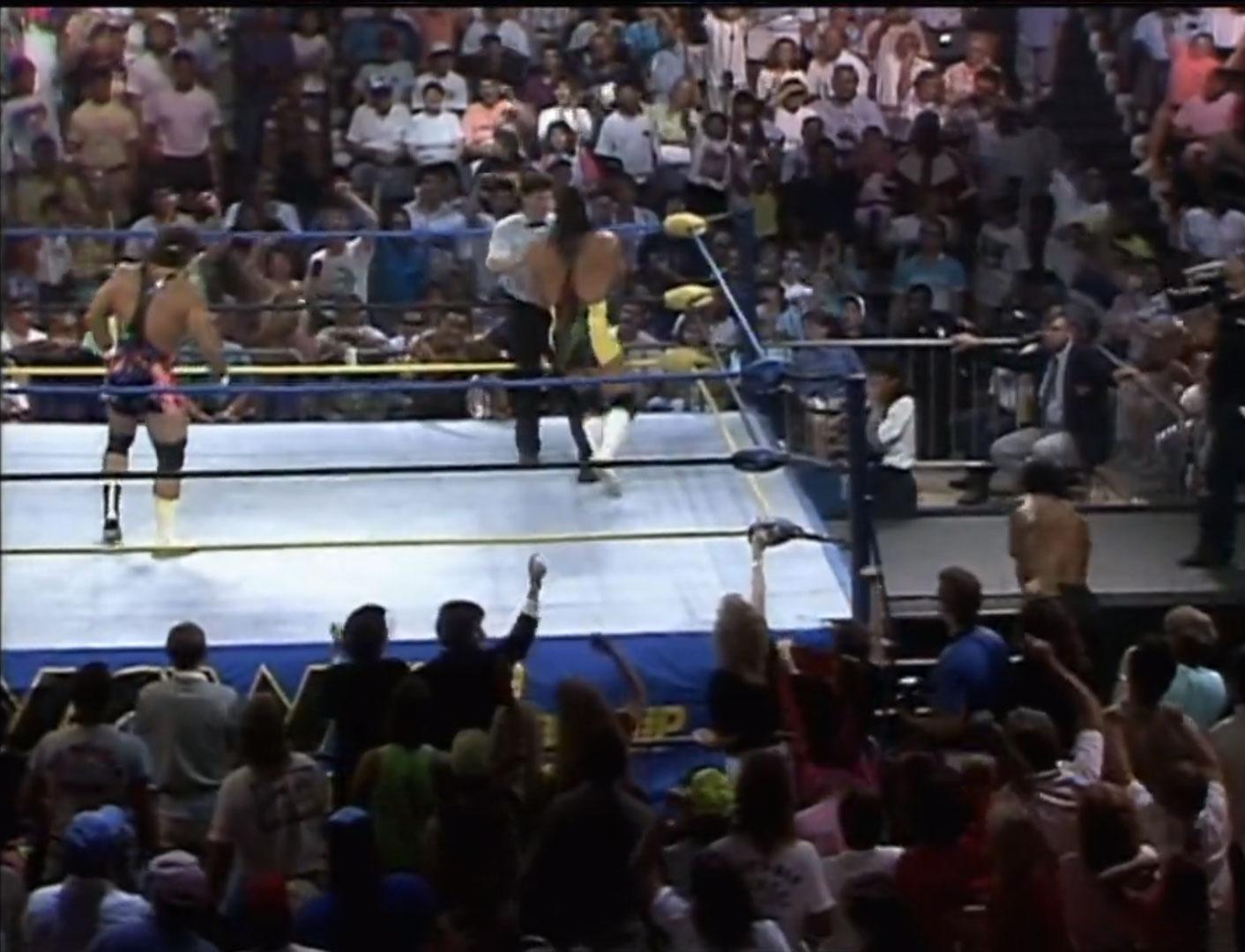 Doom vs. The Steiner Brothers World Tag Team Championship NWA Clash Of The Champions XI: Coastal Crush Jun 13th 1990
