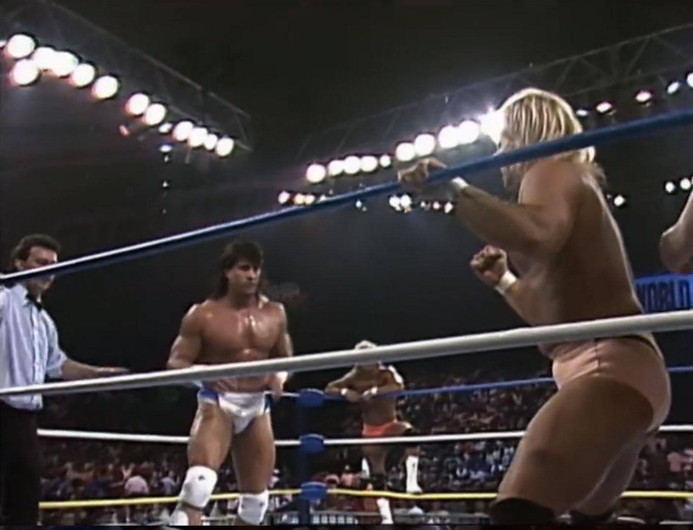 Tom Zenk & Brian Pillman vs. Midnight Express NWA Capital Combat '90 May 19th 1990