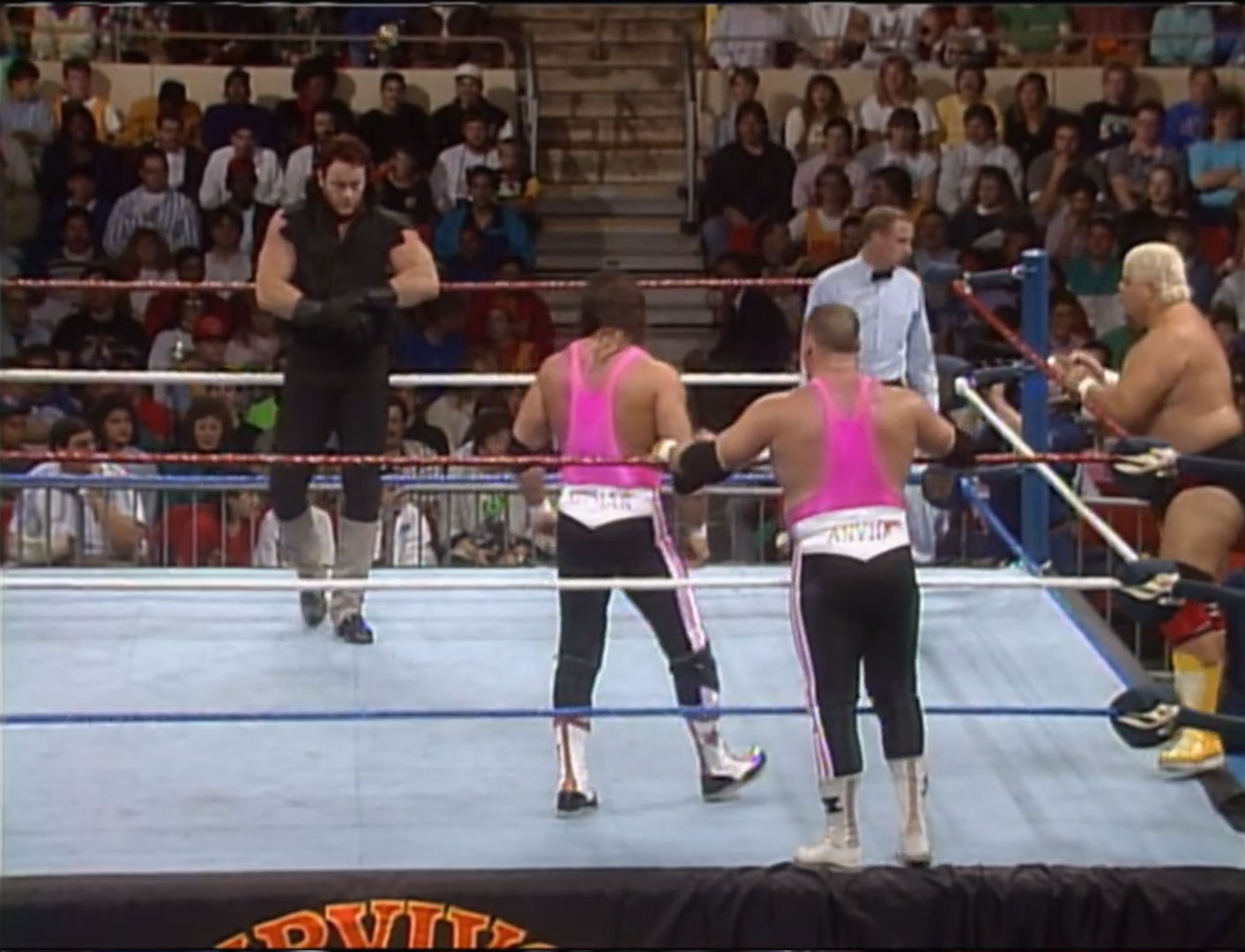 Dusty Rhodes' Dream Team vs. Ted DiBiase's Million Dollar Team WWF Survivor Series 1990 November 22nd 1990