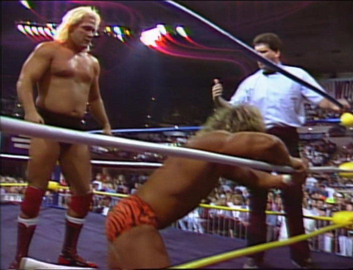 Brian Pillman vs. Buddy Landell NWA Clash Of The Champions XIII: Thanksgiving Thunder Nov 20th 1990