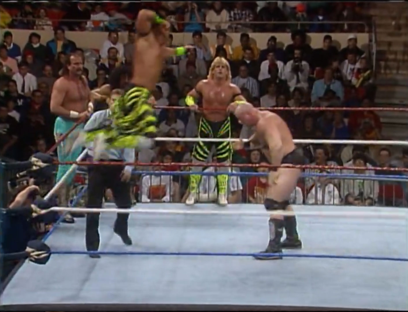 The Vipers vs. The Visionaries WWF Survivor Series 1990 Nov 22nd 1990