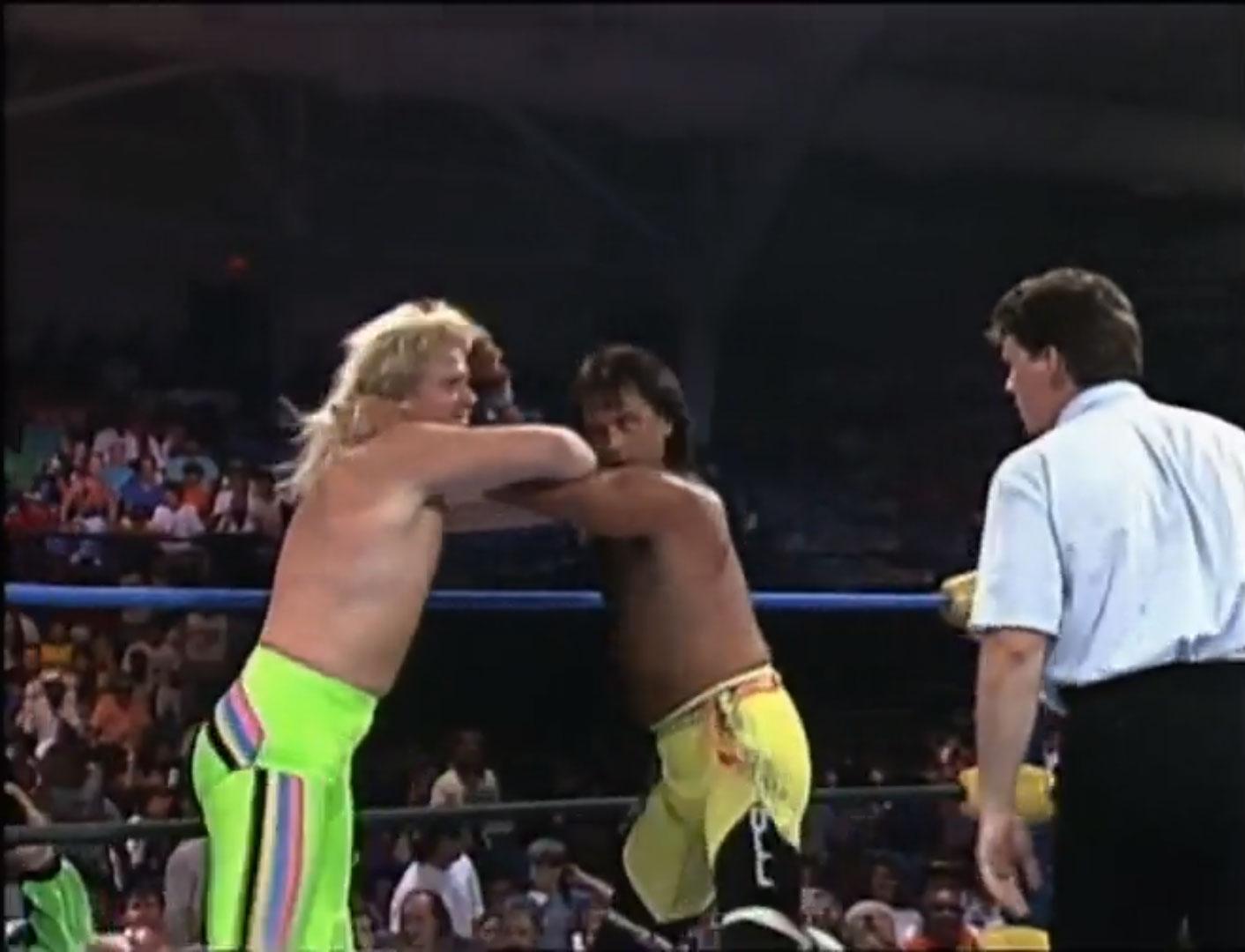 The Rock 'n' Roll Express vs. The Midnight Express United States Tag Team Championship NWA Clash Of The Champions XI: Coastal Crush Jun 13th 1990