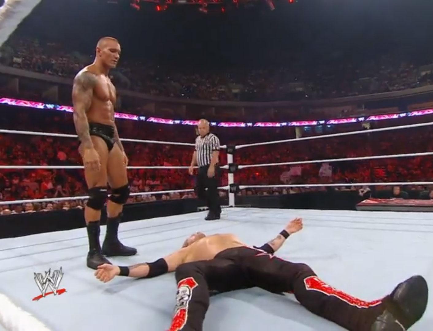 Randy Orton vs. Chris Jericho vs. Edge  Triple-Threat WWE Monday Night Raw Jul 19th 2010