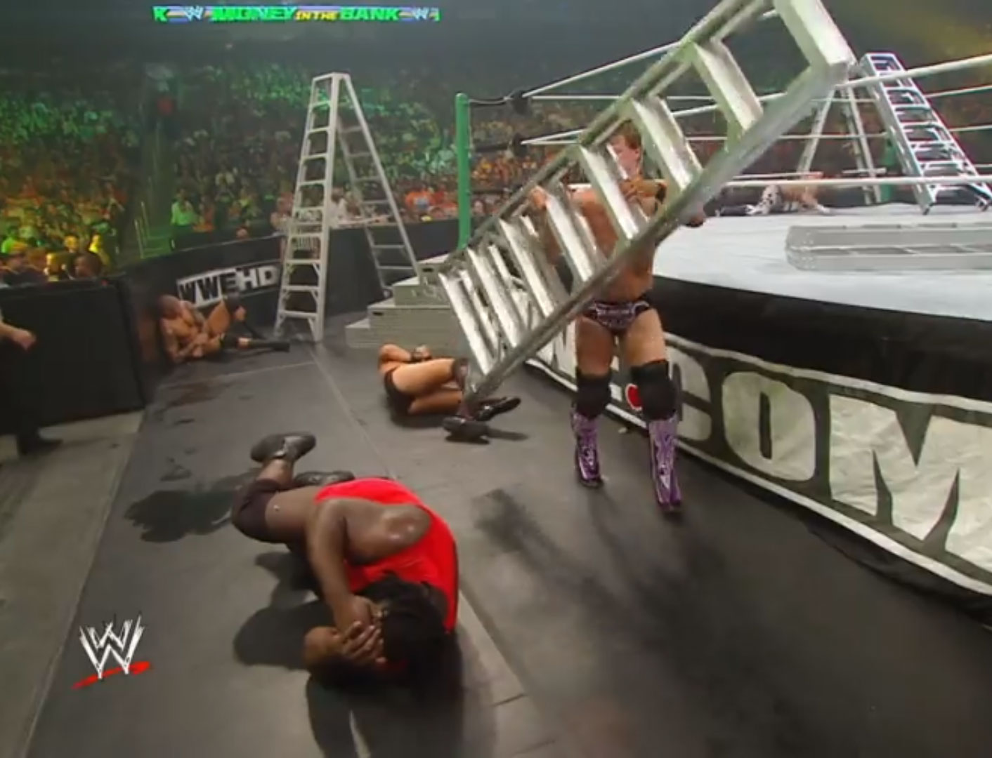 RAW Money In The Bank Ladder Match WWE Money In The Bank '10 Jul 18th 2010