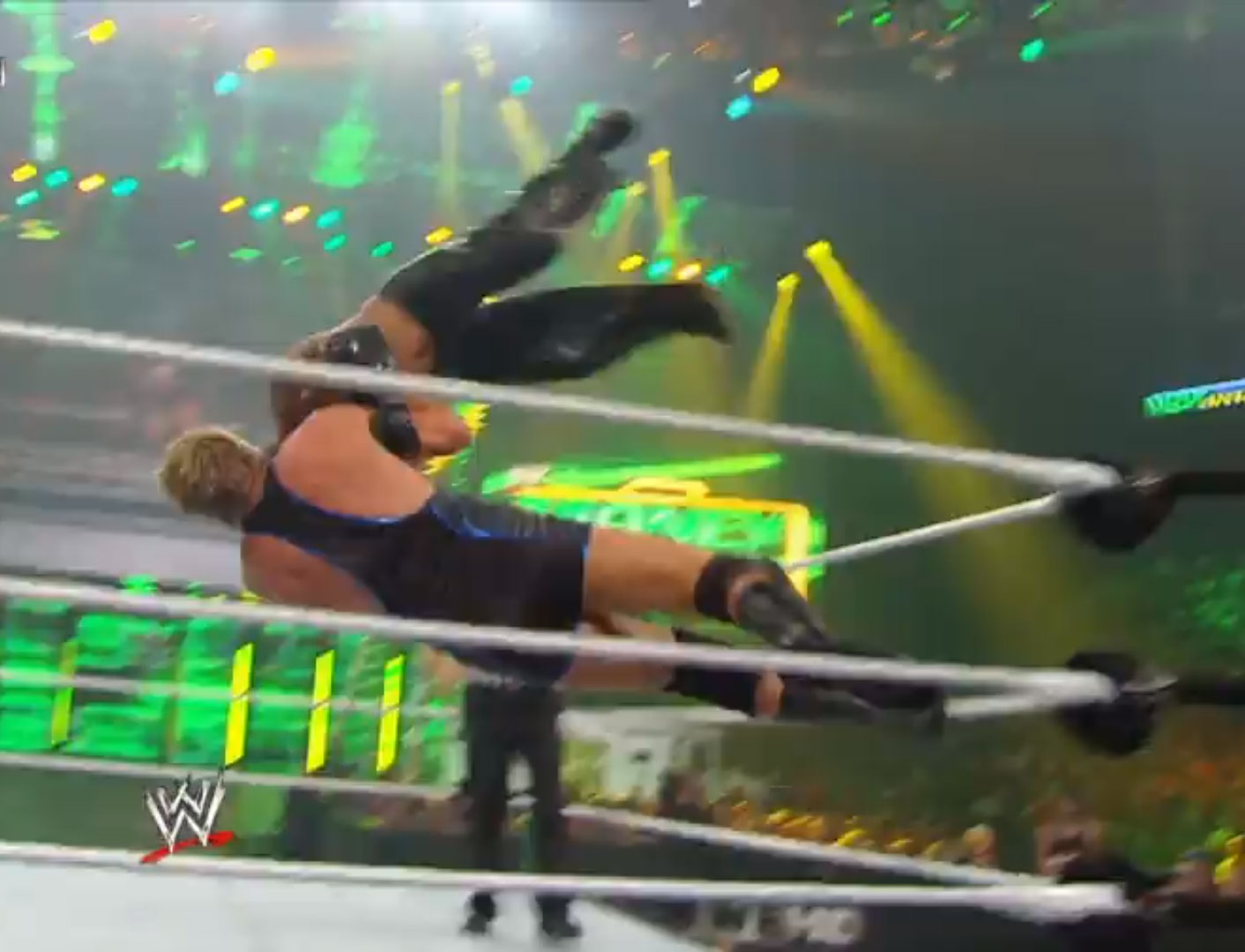 Rey Mysterio vs. Jack Swagger WWE Money In The Bank '10 Jul 18th 2010