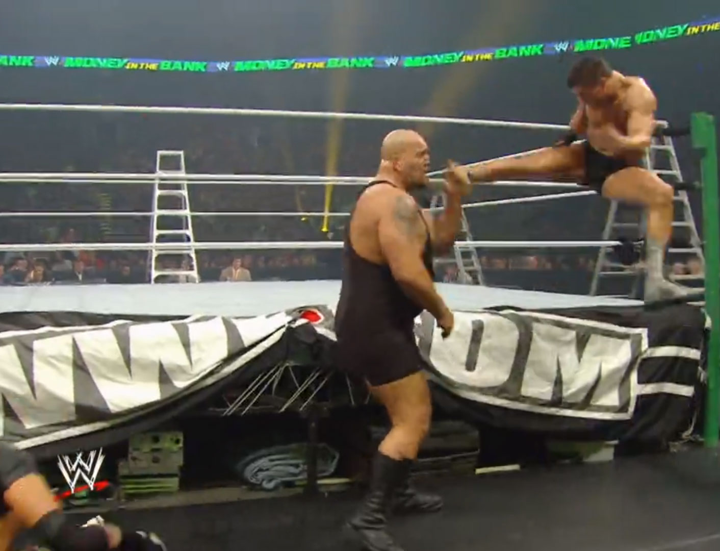 Smackdown Money In The Bank Match WWE Money In The Bank 2010 Jul 18th 2010
