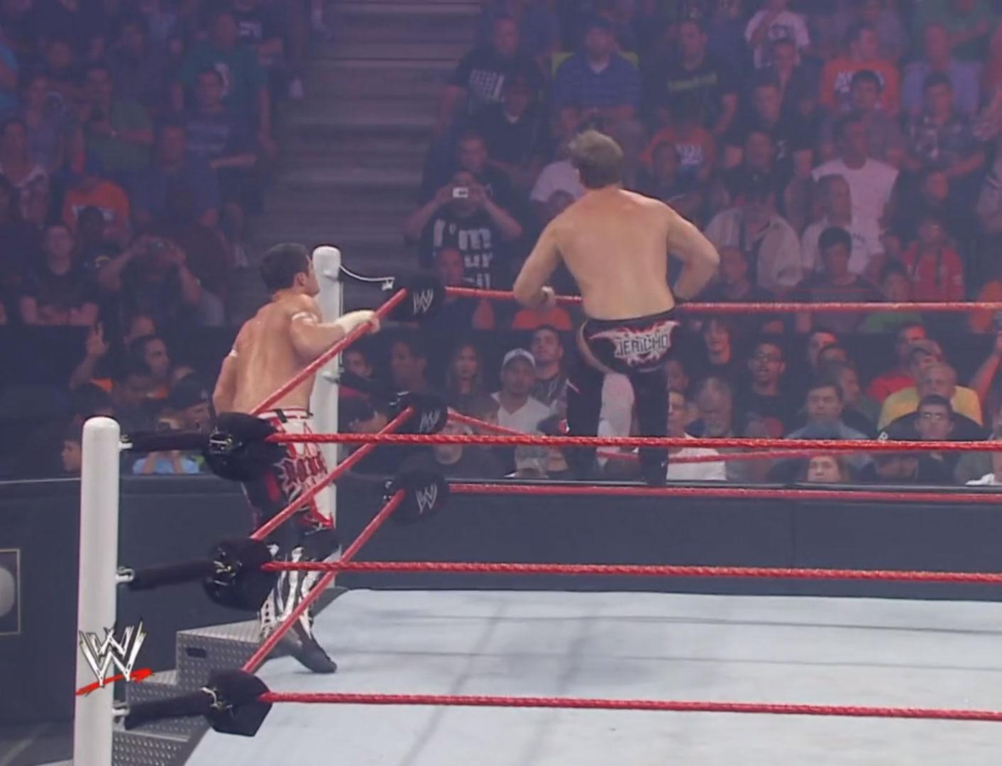 Evan Bourne vs. Chris Jericho WWE Fatal 4-Way Jun 20th 2010