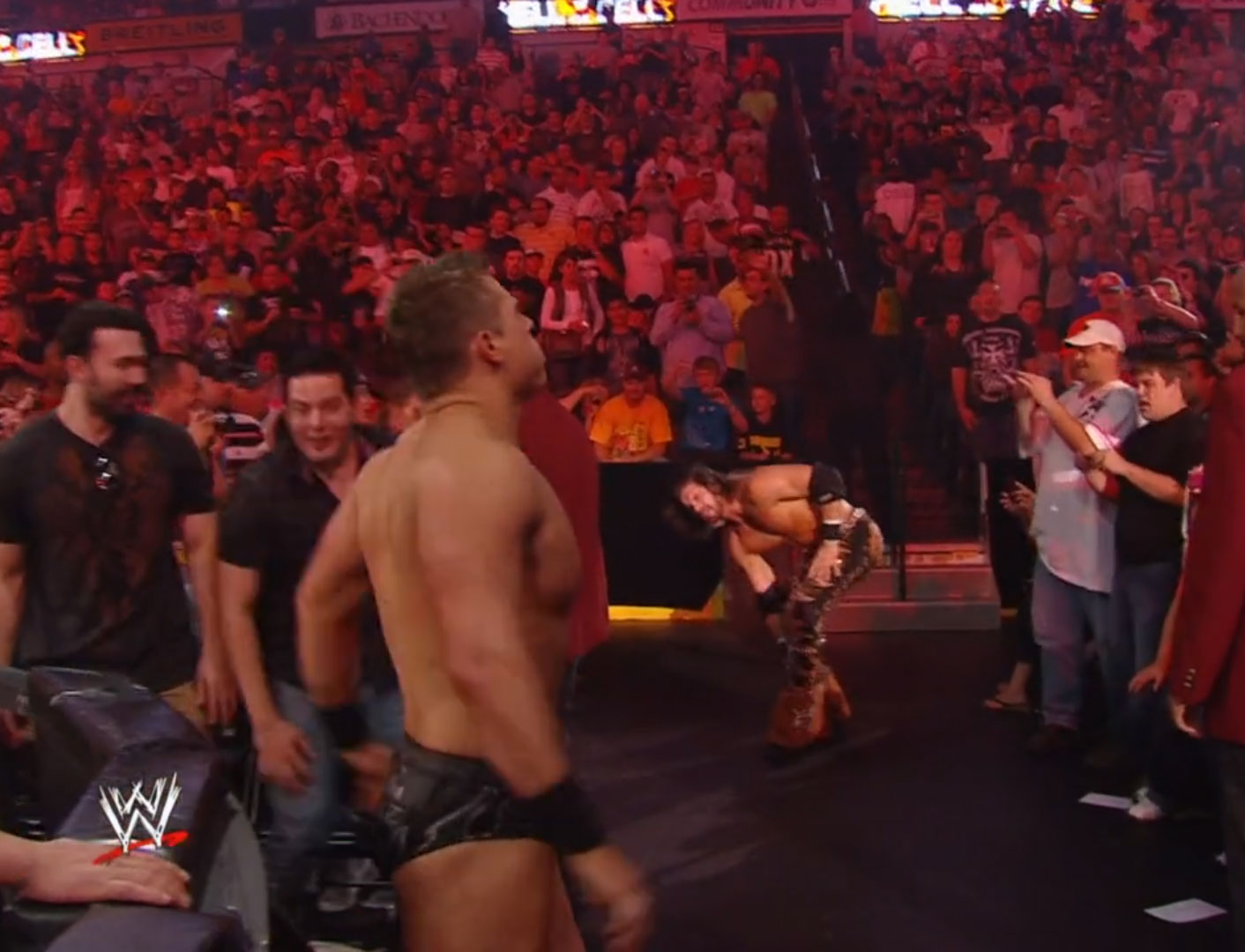 Daniel Bryan vs. John Morrison vs. The Miz  Triple-Threat Submissions Count Anywhere, WWE United States Championship WWE Hell in a Cell '10 Oct 3rd 2010