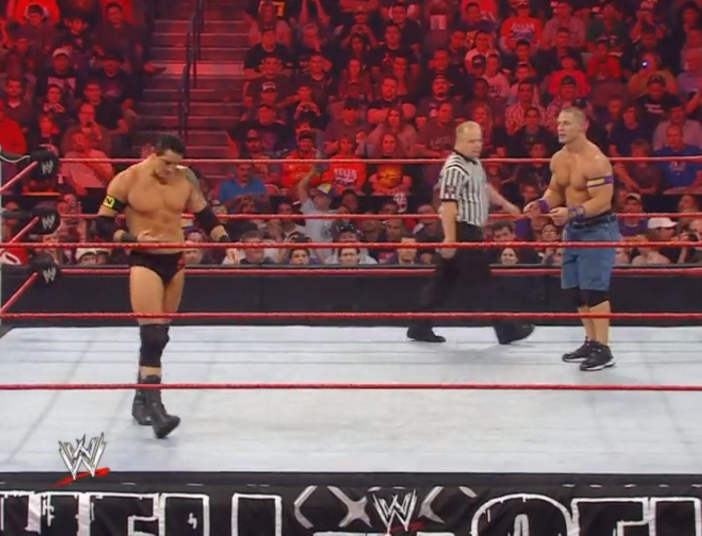 Wade Barrett vs. John Cena WWE Hell in a Cell '10 Oct 3rd 2010