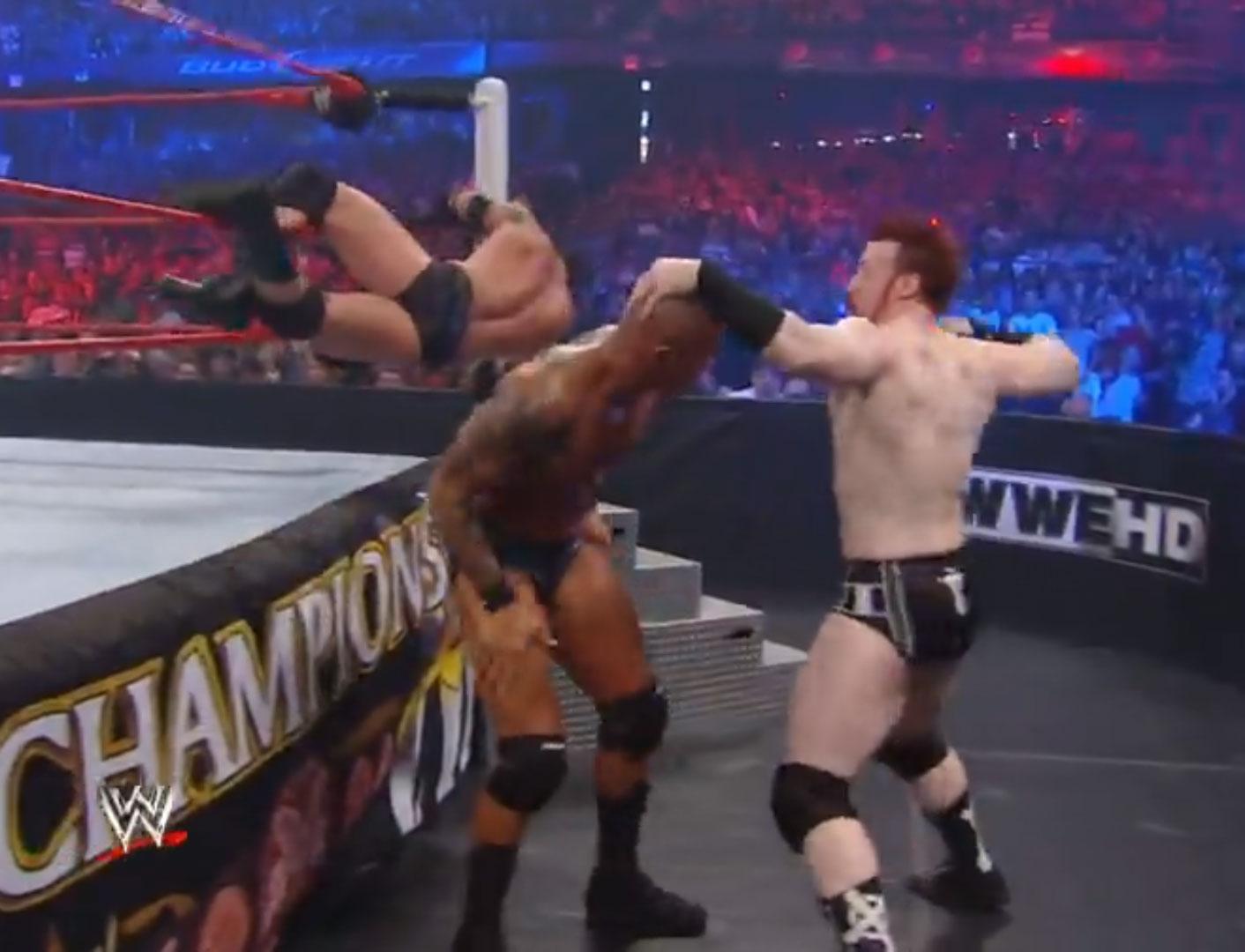 """Six-Pack Challenge"" Elimination WWE Championship WWE Night of Champions '10 Sep 19th 2010"
