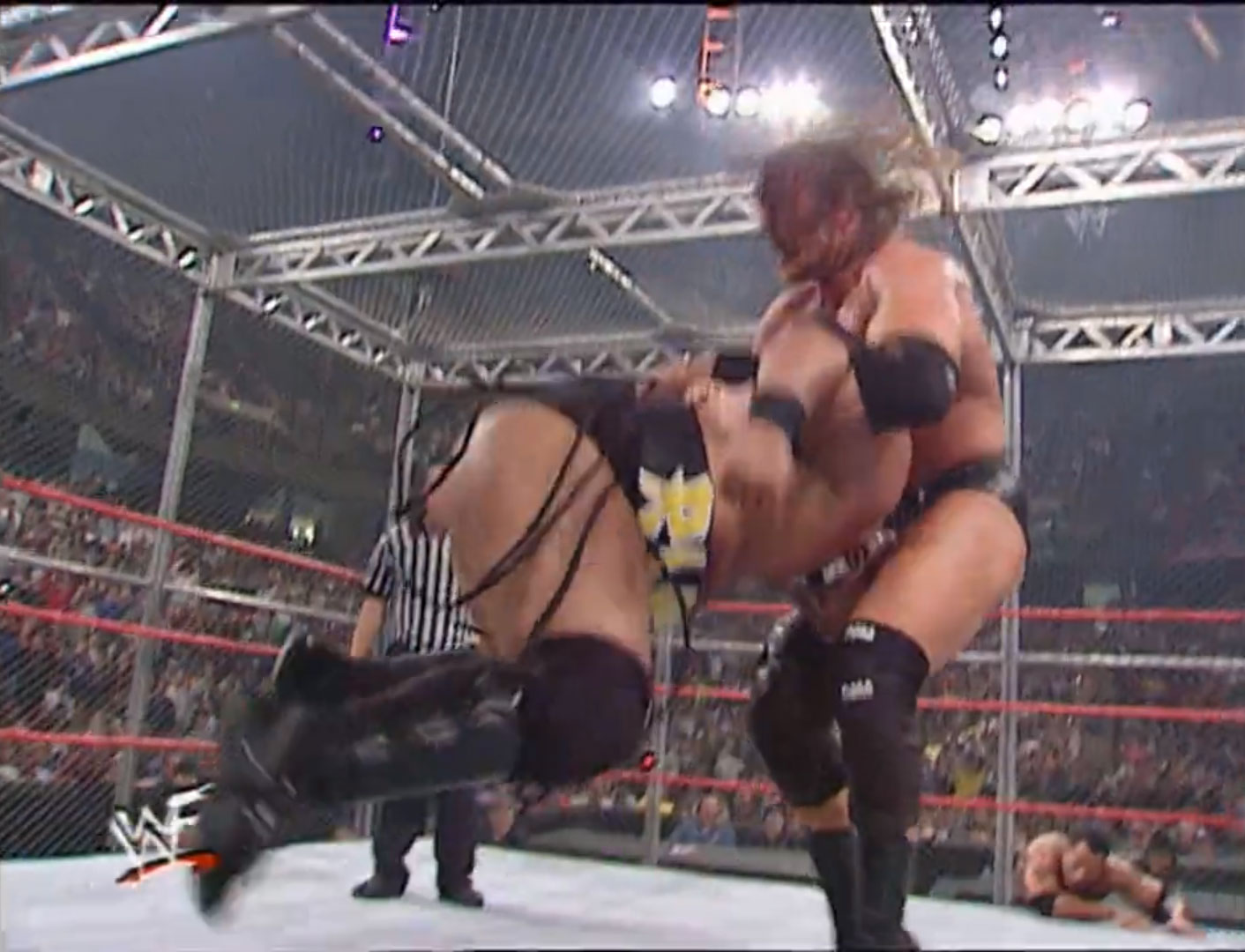 """Hell In A Cell"" (Six-Way) WWF World Heavyweight Championship WWF Armageddon '00 Dec 10th 2000"