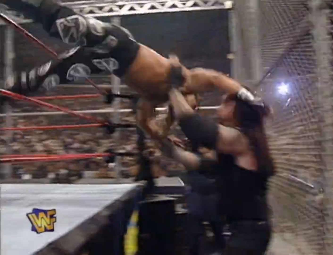Shawn Michaels vs. The Undertaker Hell In A Cell, WWF In Your House 18: Badd Blood Oct 5th 1997