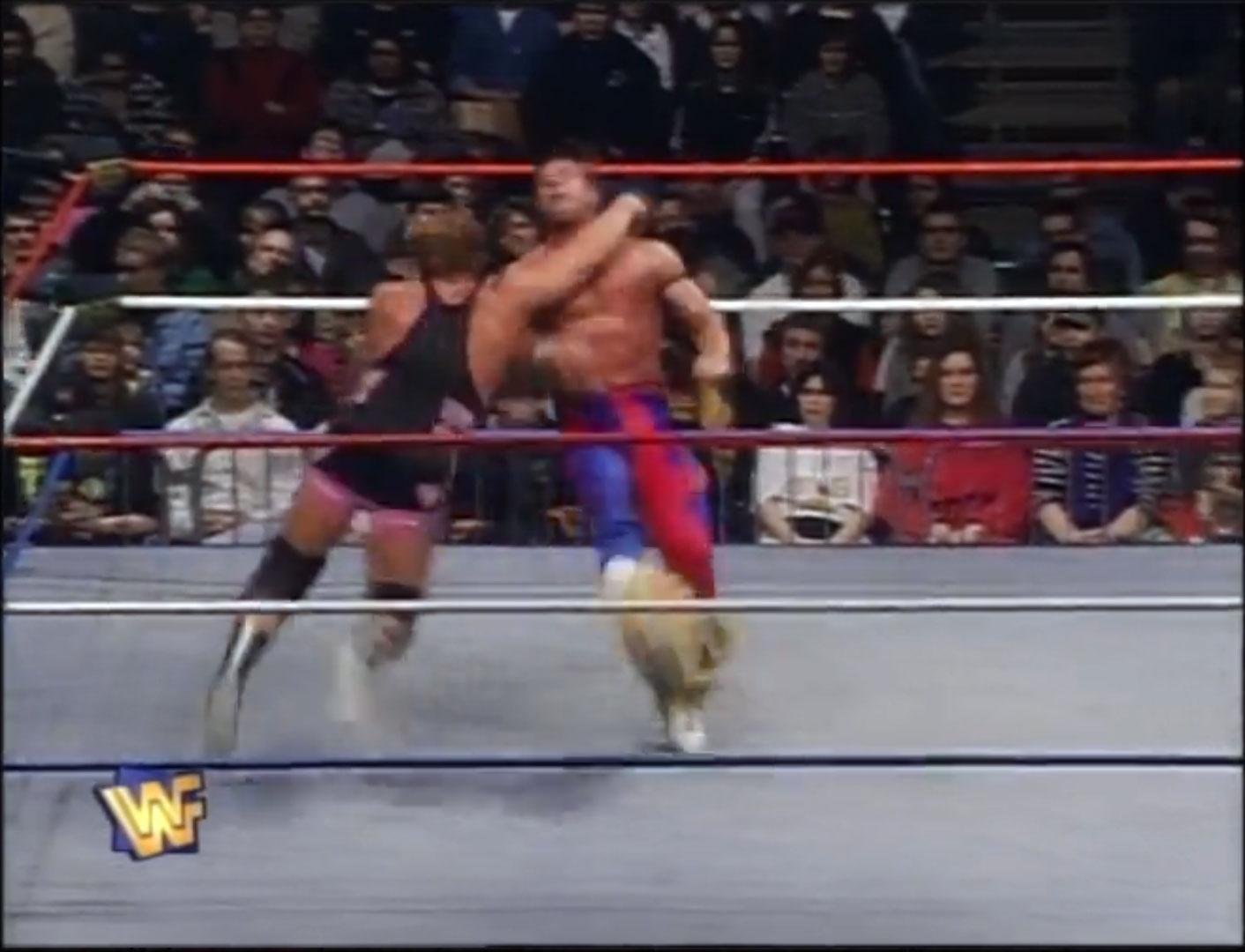 Owen Hart vs. The British Bulldog WWF European Championship Finals,  WWF Monday Night Raw, March 3rd 1997
