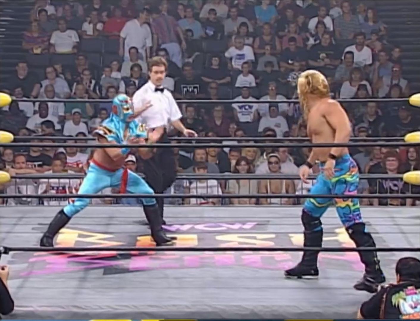 Chris Jericho vs. Ultimo Dragon WCW Cruiserweight Championship, WCW Bash at the Beach '97 Jul 13th 1997