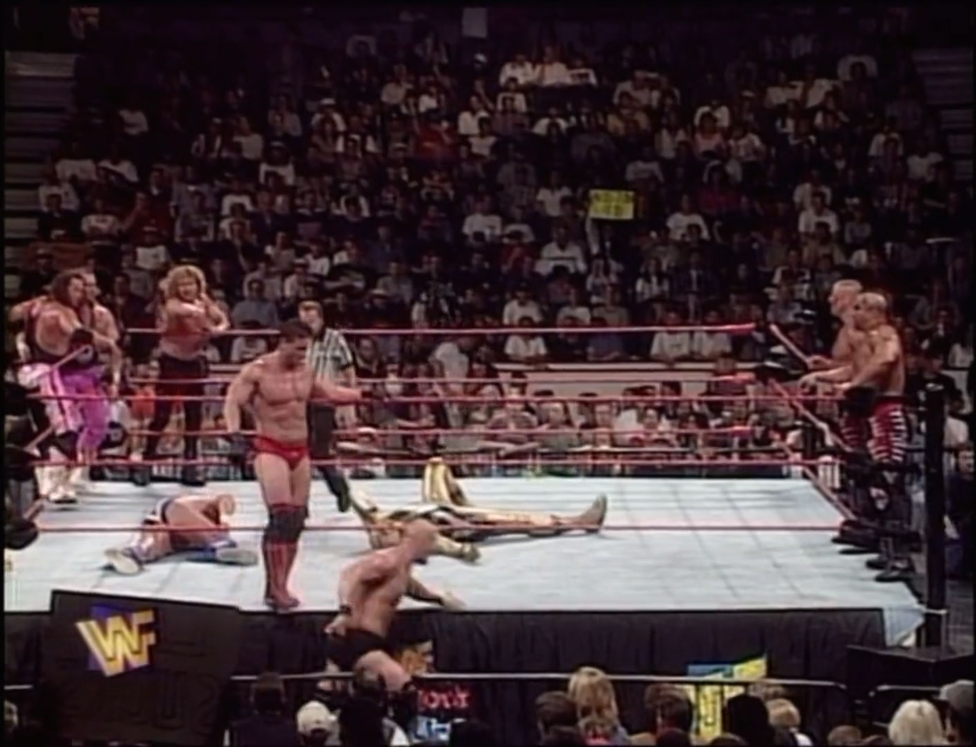 Canadian Stampede 10-Man Tag Team Match WWF In Your House 16: Canadian Stampede Jul 6th 1997