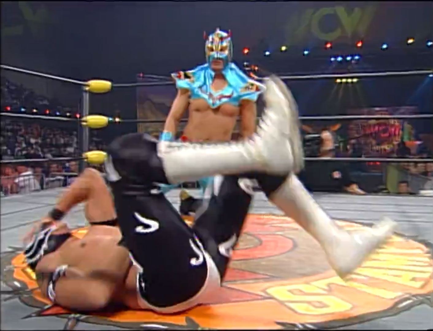 Rey Misterio, Jr. vs. Ultimo Dragon WCW Spring Stampede '97 Apr 6th 1997