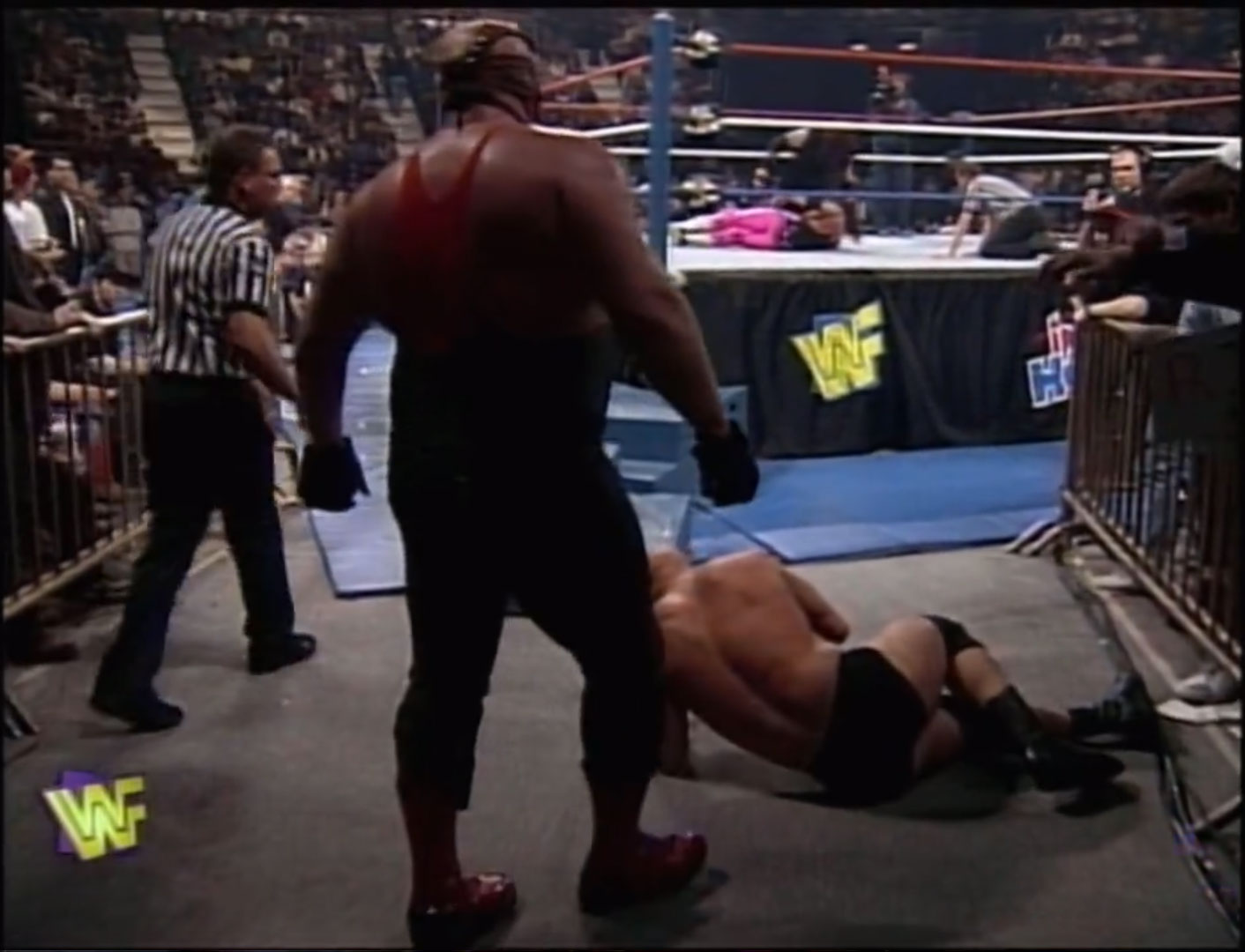 Bret Hart vs. Steve Austin vs. The Undertaker, vs. Vader  WWF Heavyweight Championship, Fatal 4-Way Elimination WWF In Your House 13: Final Four Feb 16th 1997