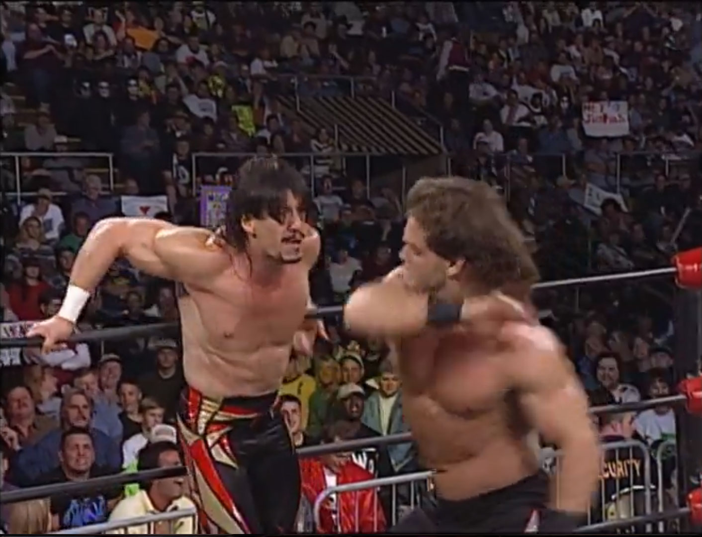 Eddy Guerrero vs. Chris Benoit WCW Monday NITRO Oct 20th 1997