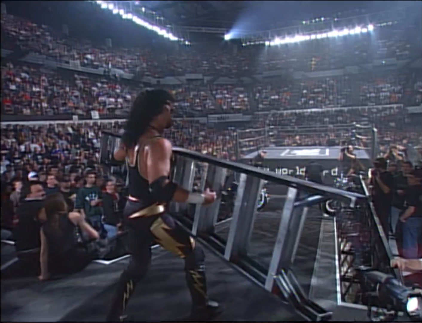 Eddy Guerrero vs. Syxx  Ladder Match, WCW United States Championship WCW Souled Out '97,  Jan 25th 1997