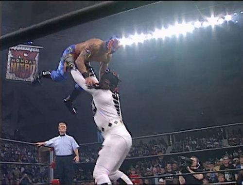 Hector Garza, Juventud Guerrera and Rey Mysterio Jr. vs. La Parka, Psychosis and Silver King WCW Monday Nitro, December 22nd 1997