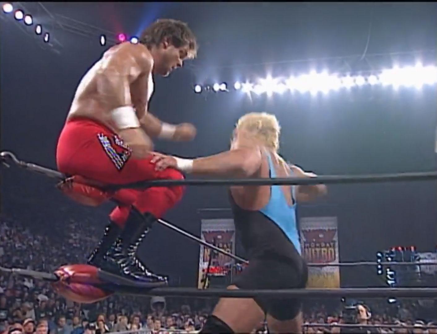Chris Benoit vs. Curt Hennig WCW United States Championship WCW Monday NITRO, October 6th 1997
