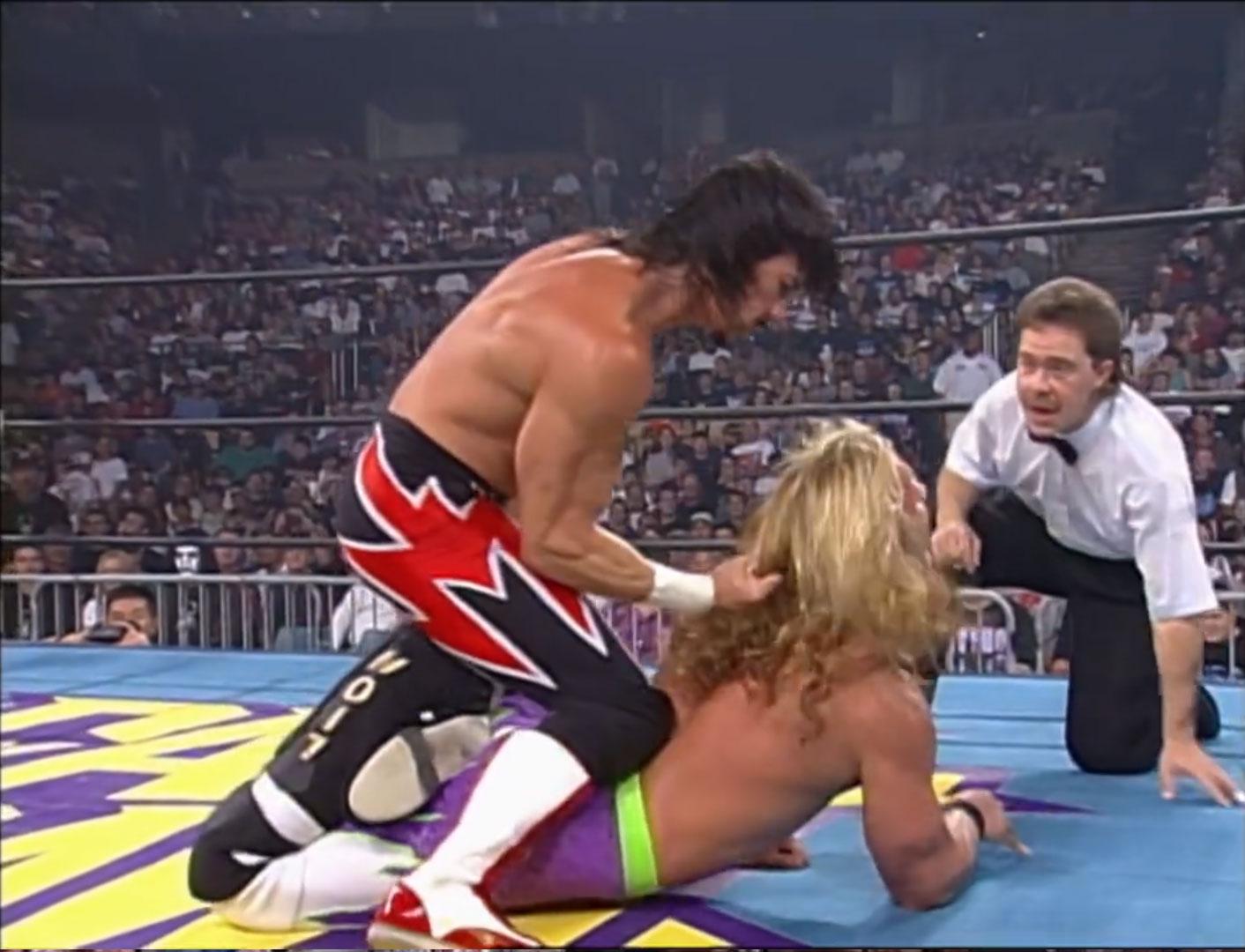 Eddy Guerrero vs. Chris Jericho  WCW Fall Brawl '97, WCW Cruiserweight Championship Sep 14th 1997