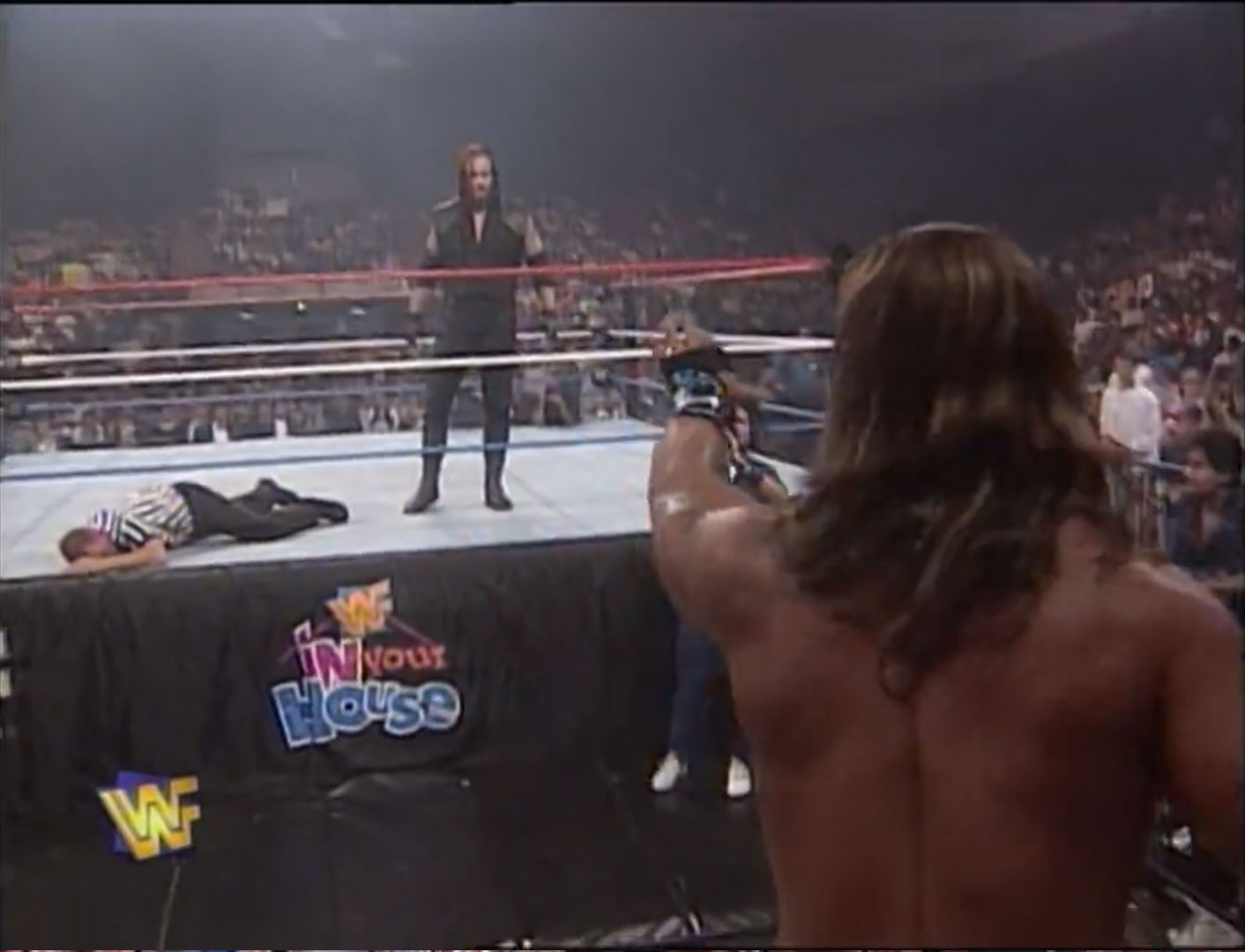 Shawn Michaels vs. The Undertaker WWF In Your House - Ground Zero Sep 7th 1997