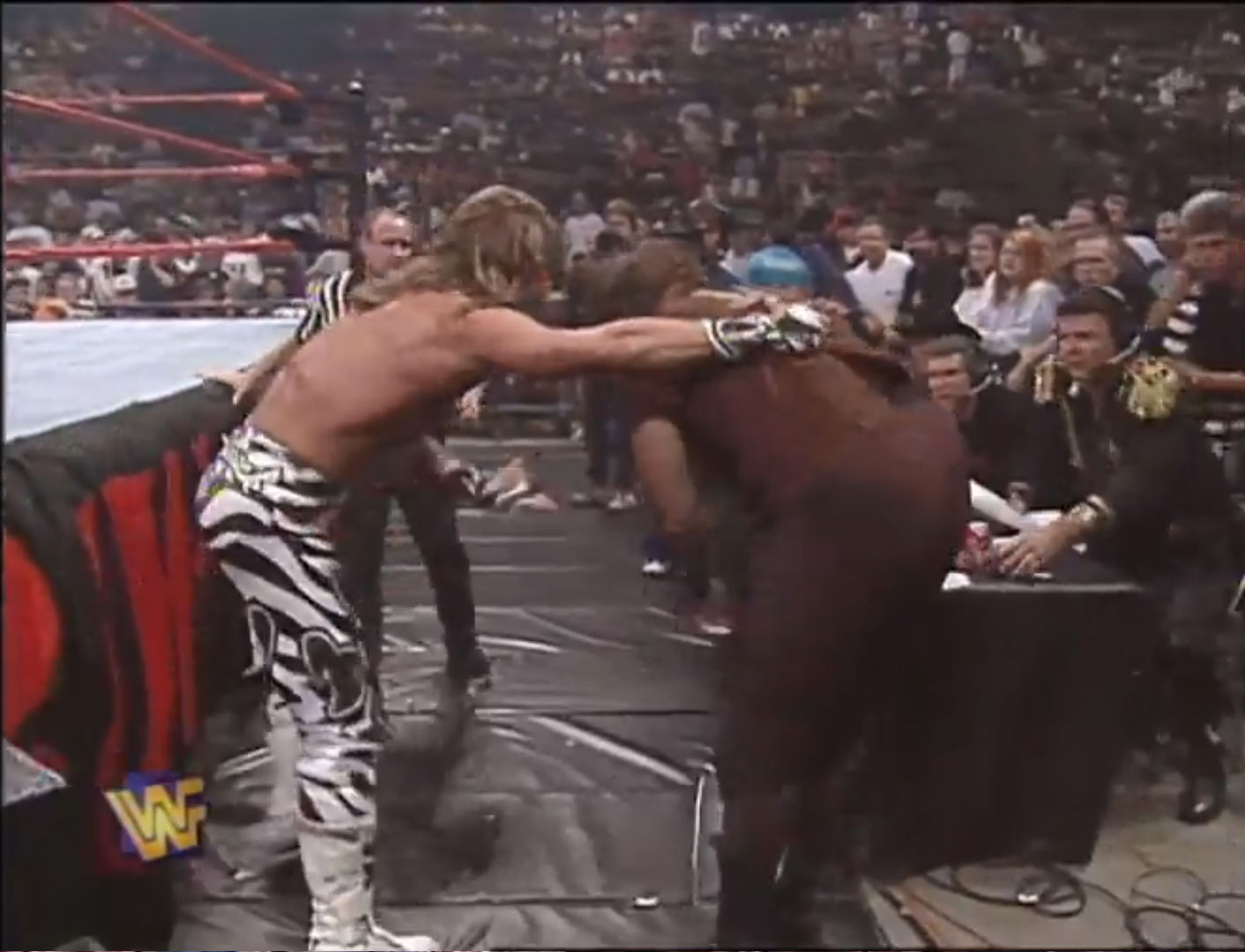Shawn Michaels vs. Mankind WWF Monday Night RAW Aug 11th 1997