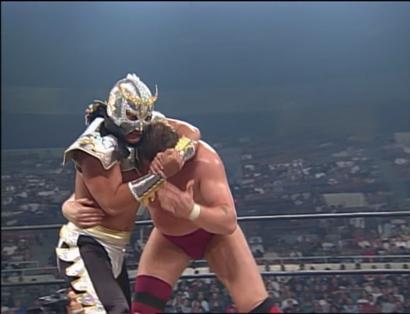 Lord Steven Regal vs. Ultimo Dragon  WCW World Television Title WCW Slamboree '97, May 18th 1997