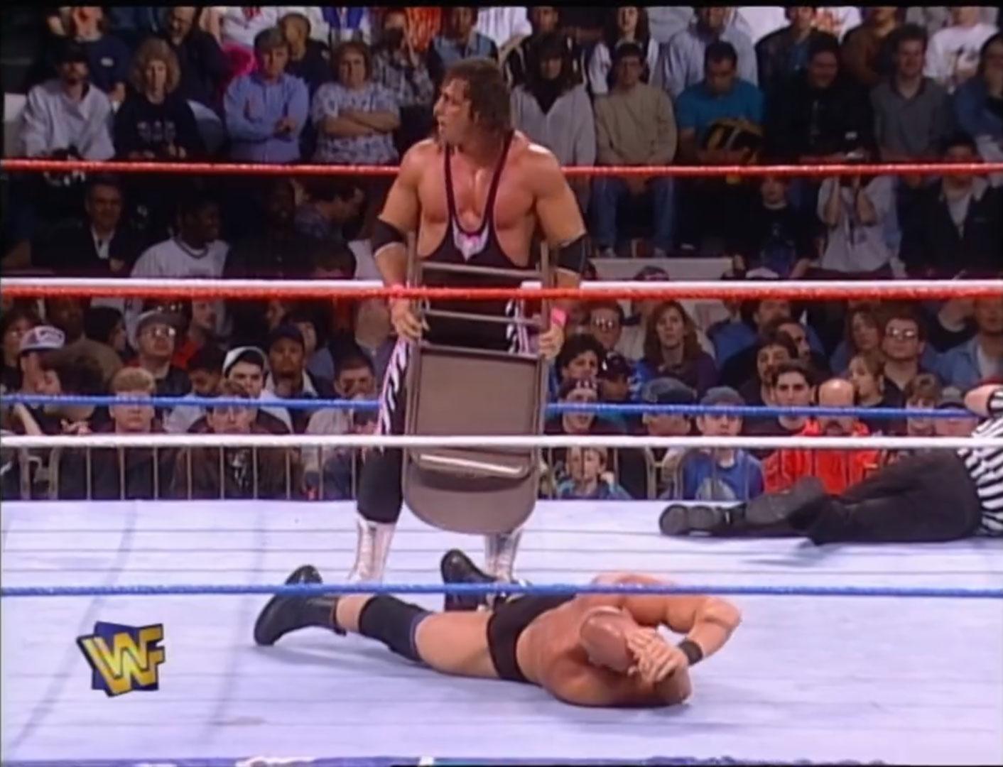 Steve Austin vs. Bret Hart WWF In Your House 14: Revenge Of The 'Taker Apr 20th 1997